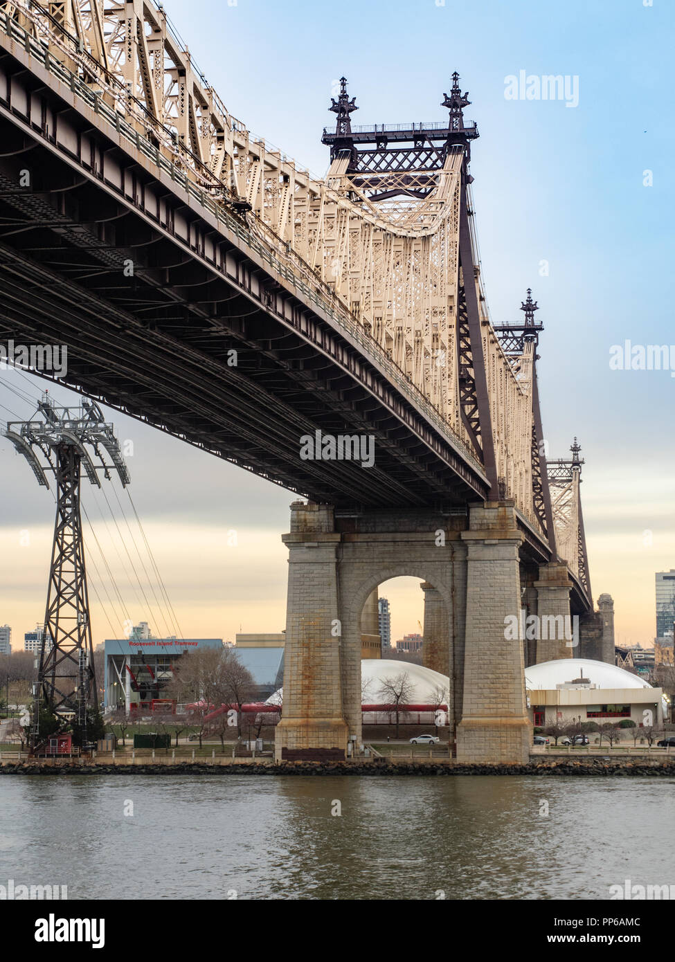 The Ed Koch Bridge Also Known As 59th Street And Queensboro Viewed