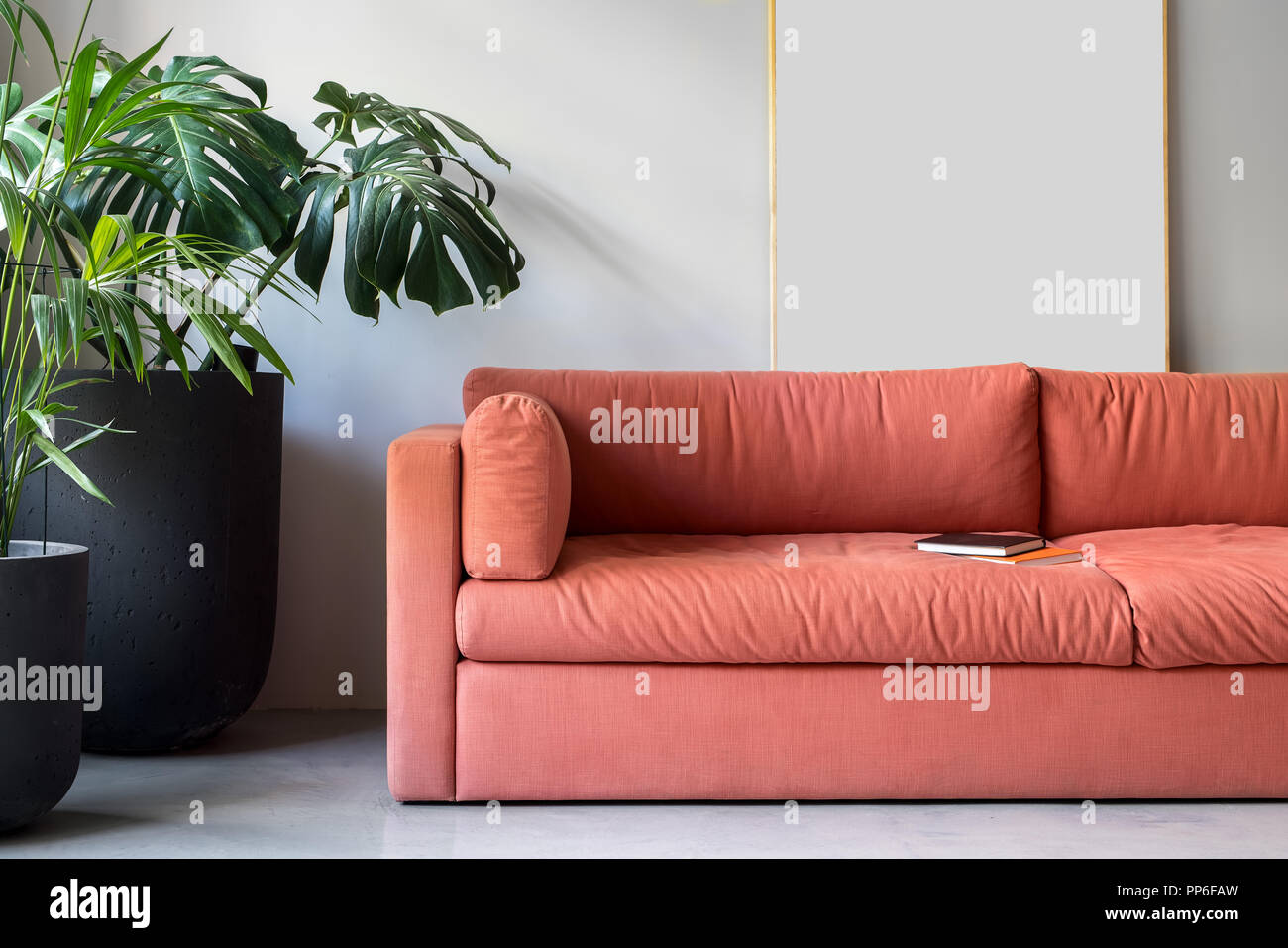 Peachy Zone For Relax In An Office In A Loft Style With Gray Wall Pabps2019 Chair Design Images Pabps2019Com