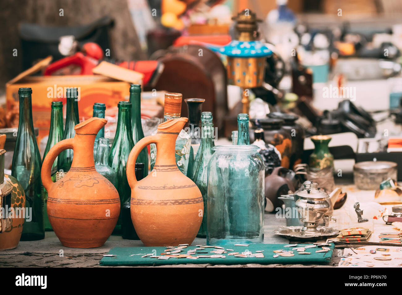 Georgia Tbilisi Flea Market Stock Photos Georgia Tbilisi: Swap Things Stock Photos & Swap Things Stock Images