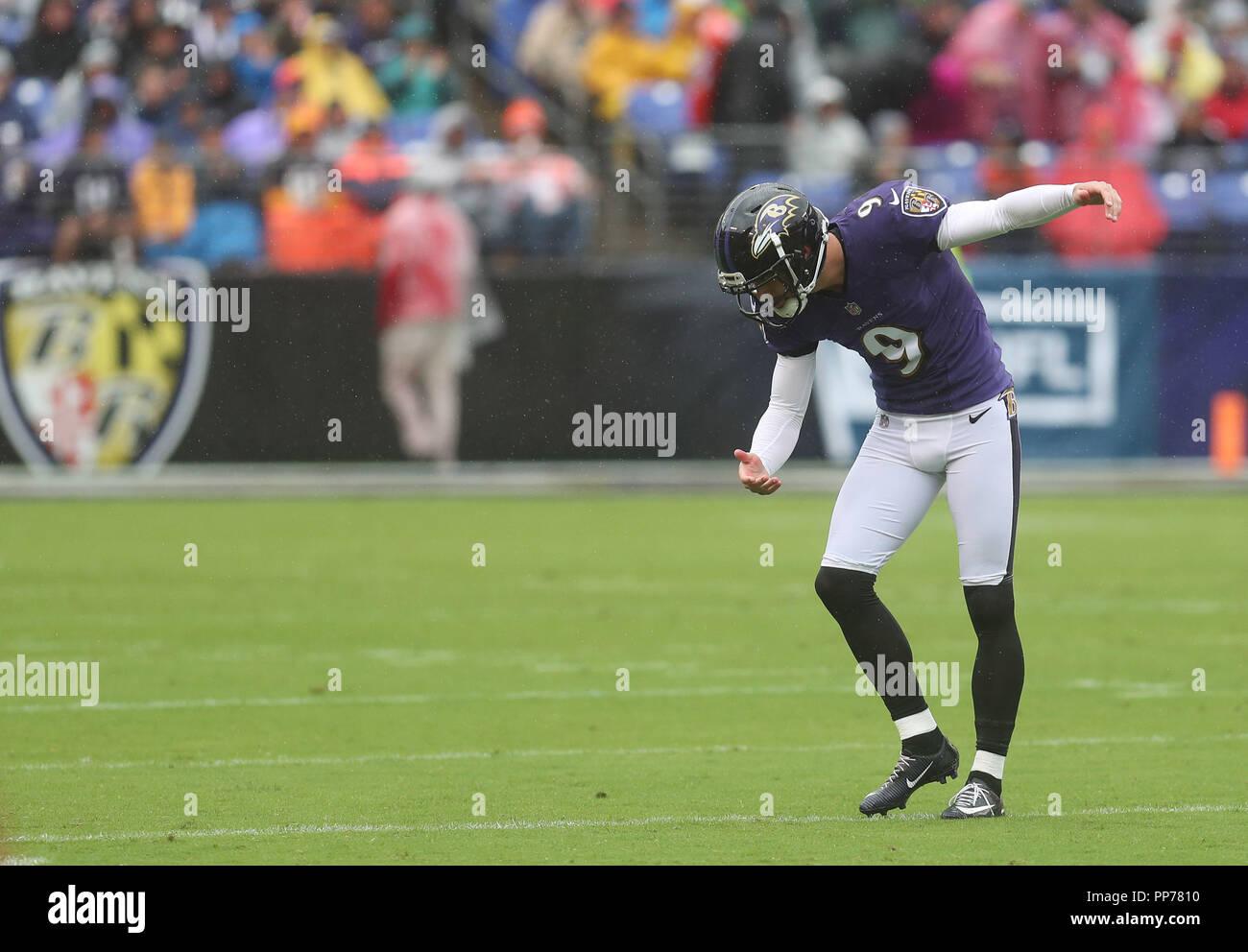 Baltimore Usa 23rd September 2018 Baltimore Ravens K Justin