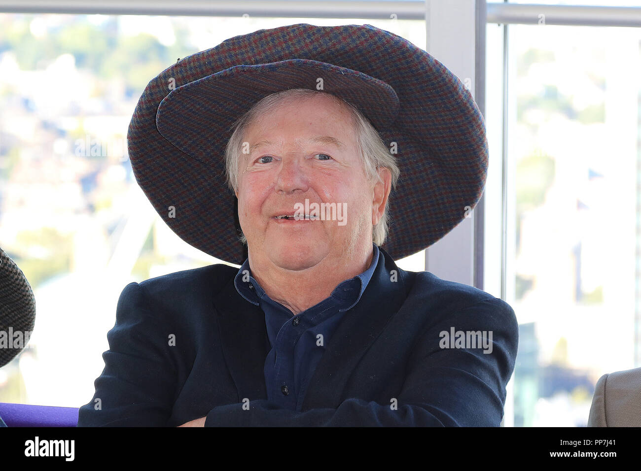 Tim Brooke-Taylor, The Goodies: The Complete BBC Collection - DVD Launch, BT Tower, London, UK, 24 September 2018, Photo by Richard Goldschmidt Credit: Rich Gold/Alamy Live News - Stock Image