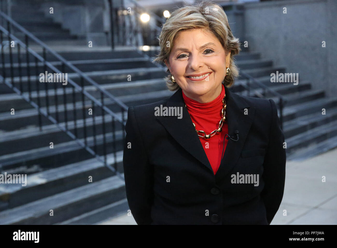 Norristown, USA  24th September 2018  Gloria Allred pictured