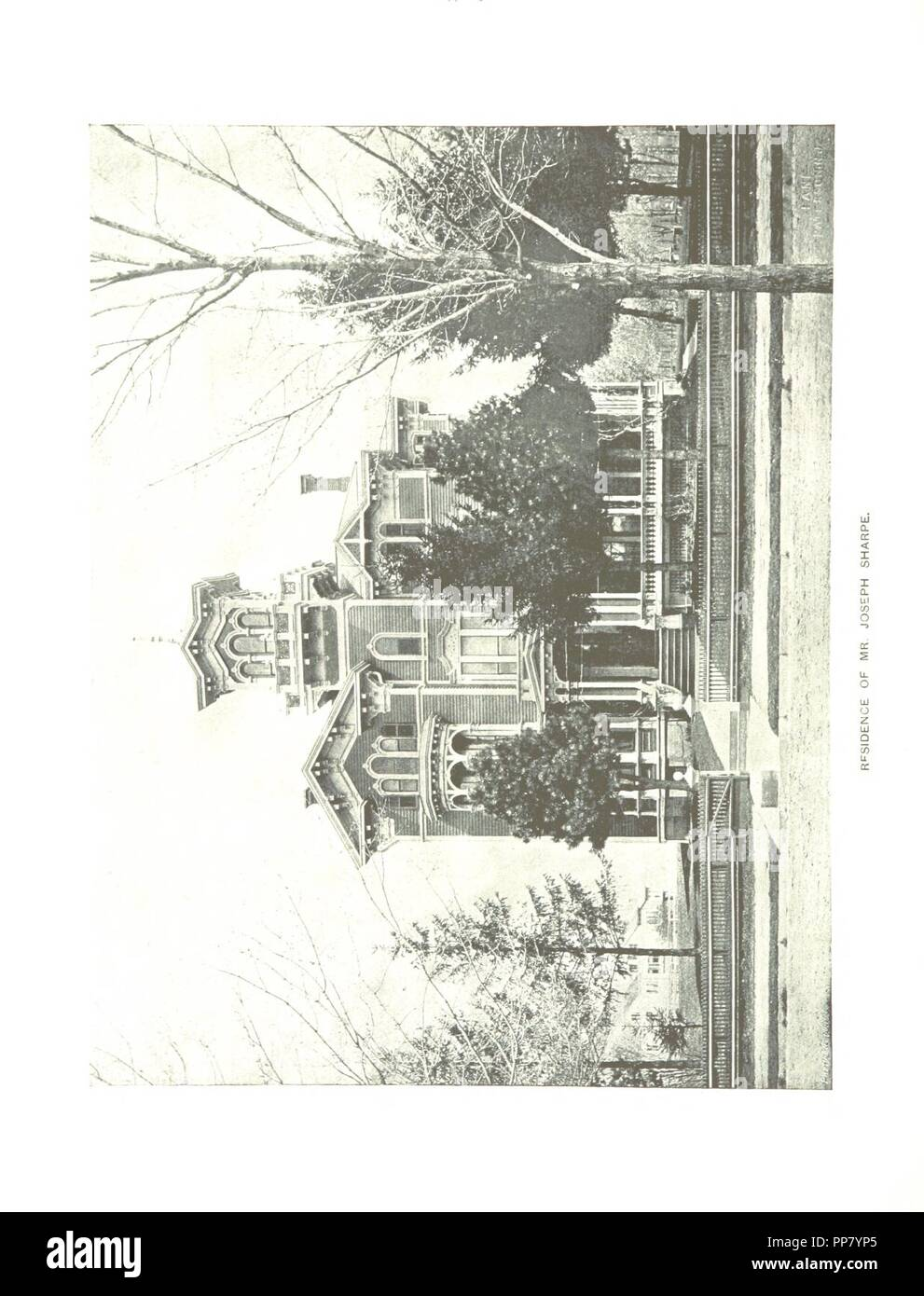 Image  from page 284 of 'Paterson, New Jersey. Its advantages for manufacturing and residence its industries, prominent men, banks, schools, churches, etc' . - Stock Image