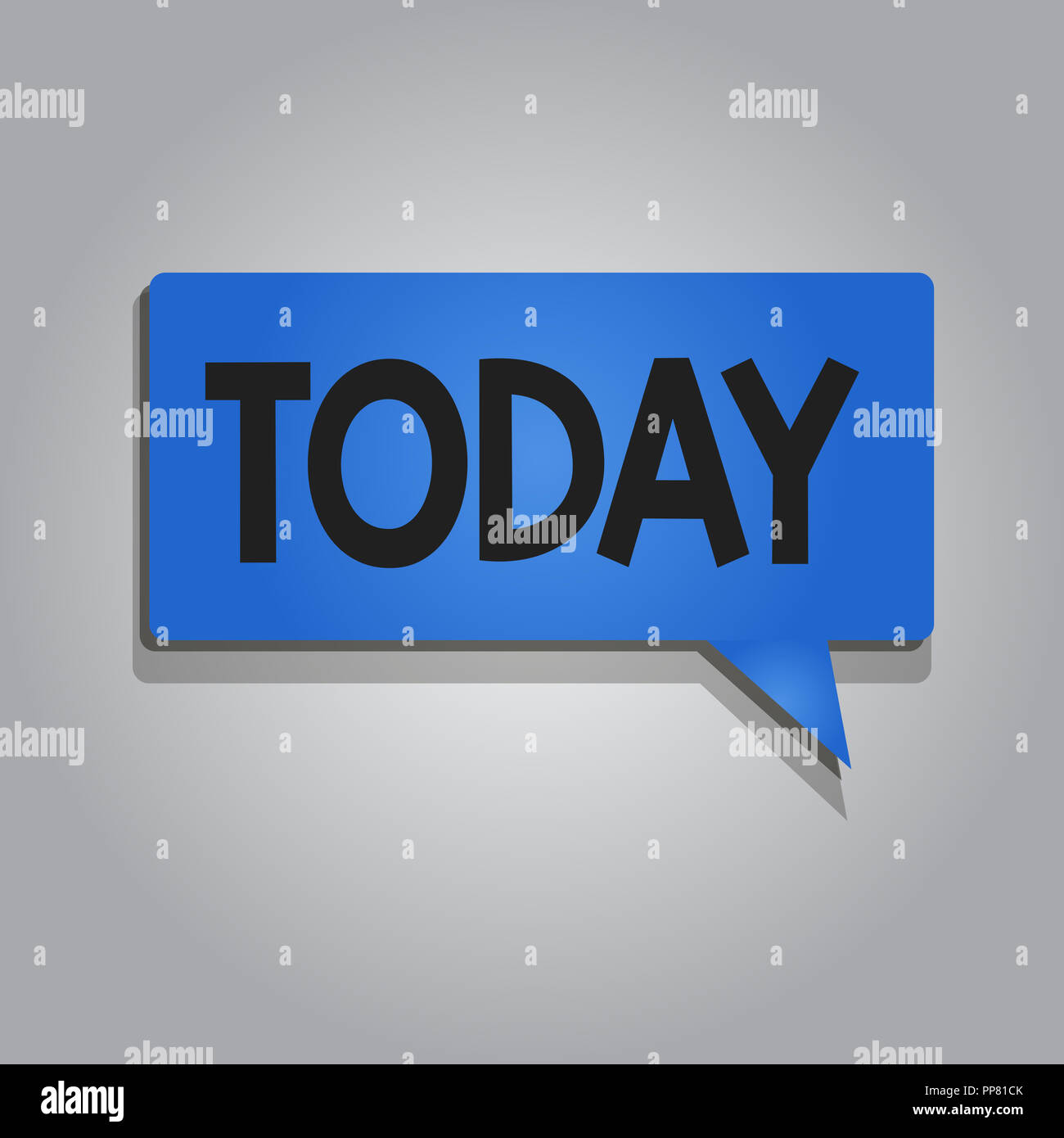 word writing text today business concept for this present day