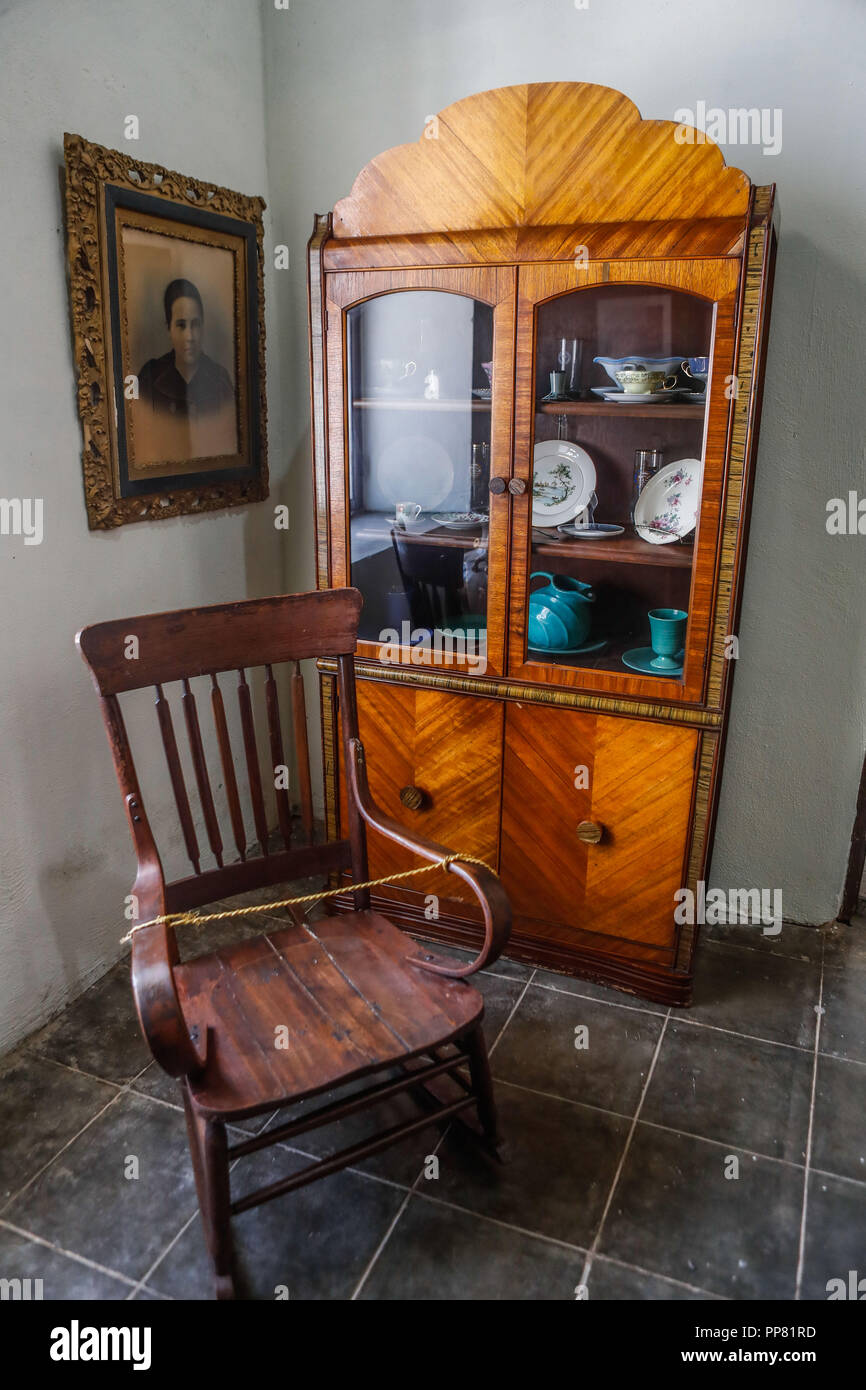 Classic Furniture, Furniture, Chair. Ures Regional Museum In The State Of  Sonora, Mexico. Museo Regional De Ures En El Estado De Sonora, Mexico. (Pho