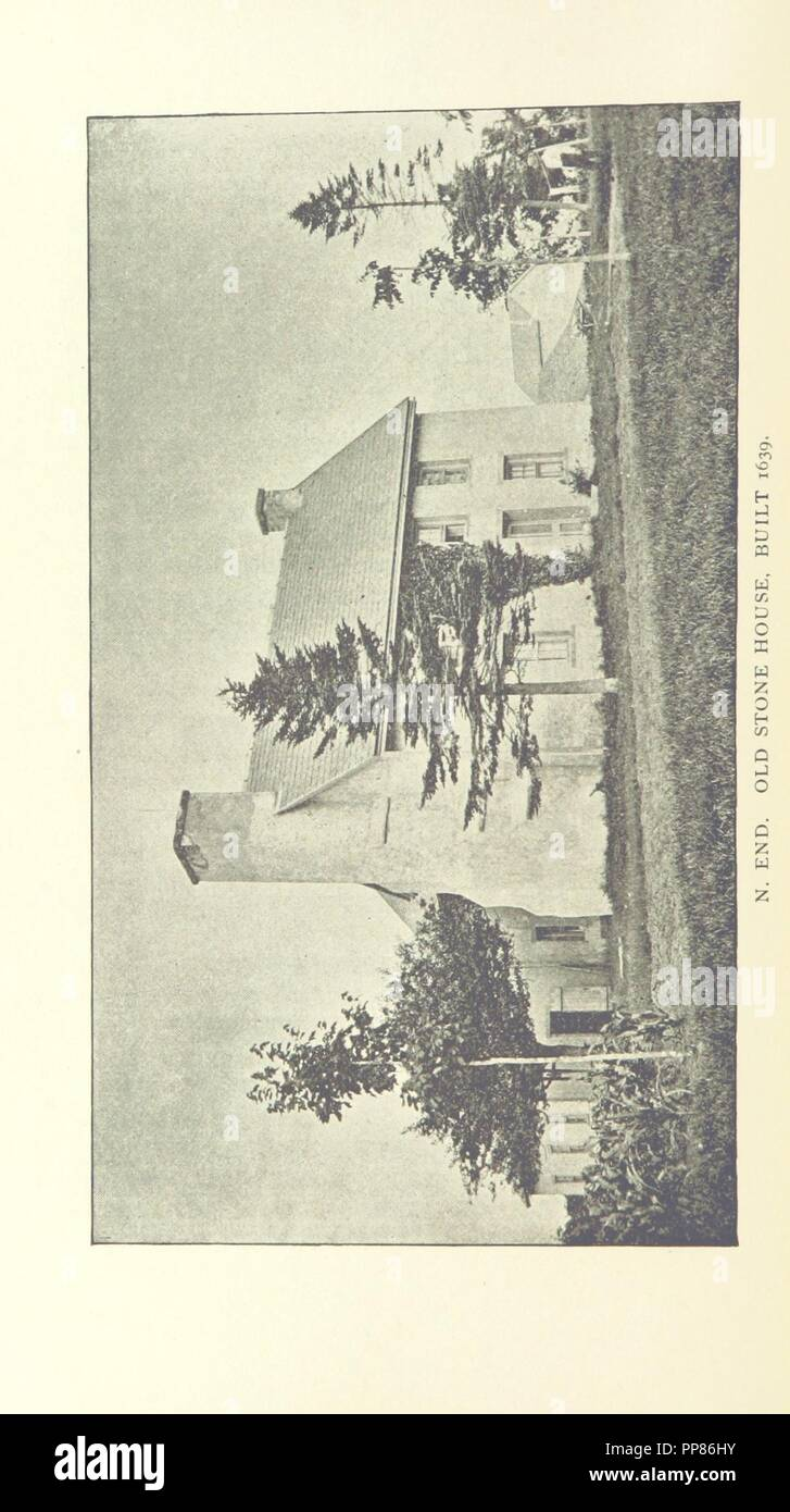 Image  from page 218 of '1639. Proceedings at the celebration of the 250th Anniversary of the settlement of Guilford, Conn., etc' . - Stock Image