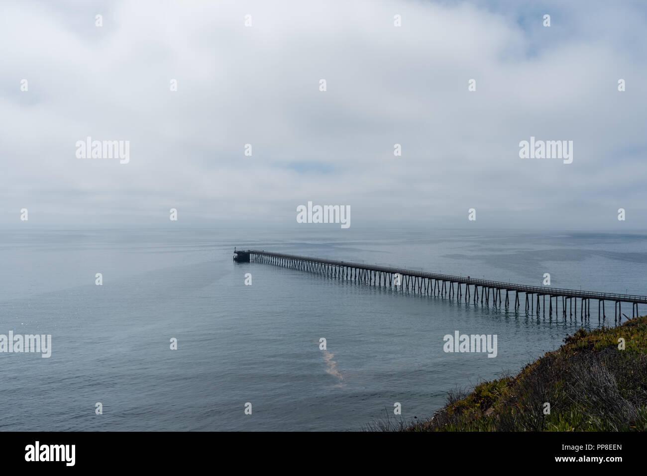 Beautiful Santa Barbara vista, Southern California - Stock Image