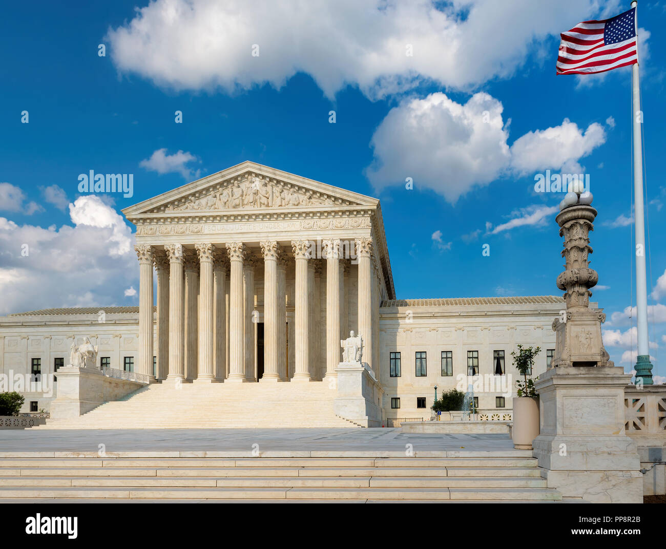 United States Supreme Court in Washington DC - Stock Image