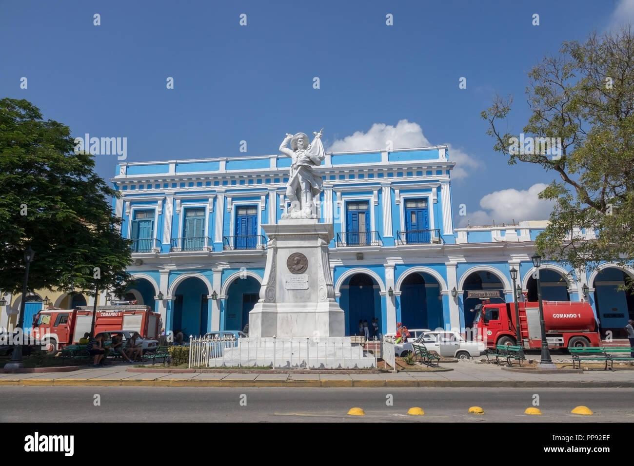 CUB, Kuba, Havanna, 11.03.2018, Matanzas Plaza de La Vigia Standbild und Feuerwache [2018 Christoph Hermann] - Stock Image
