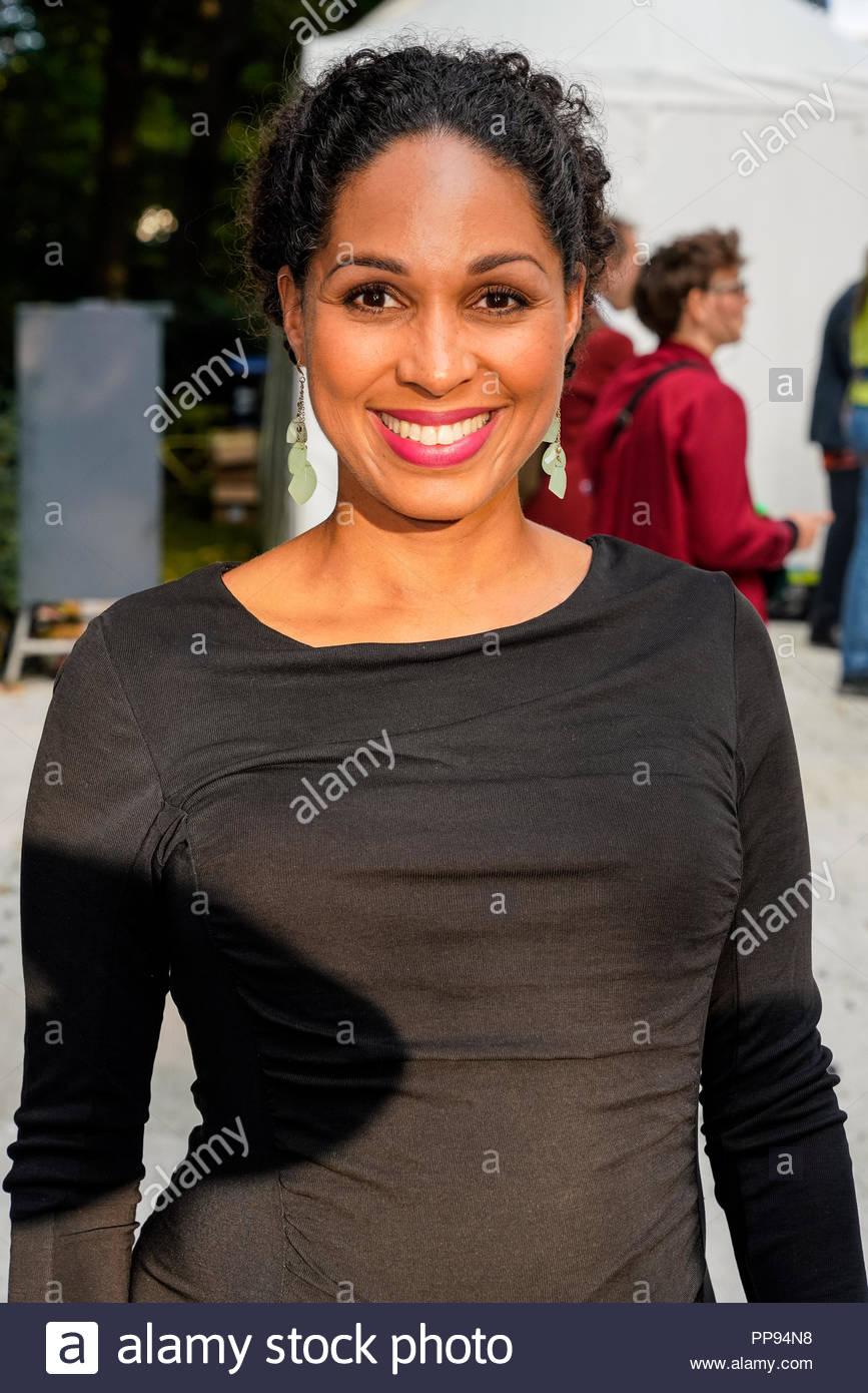 07.09.2018 - Jana Pareigis als Gast beim Bürgerfest des Bundespräsidenten 2018 auf Schloss Bellevue in Berlin. - Stock Image