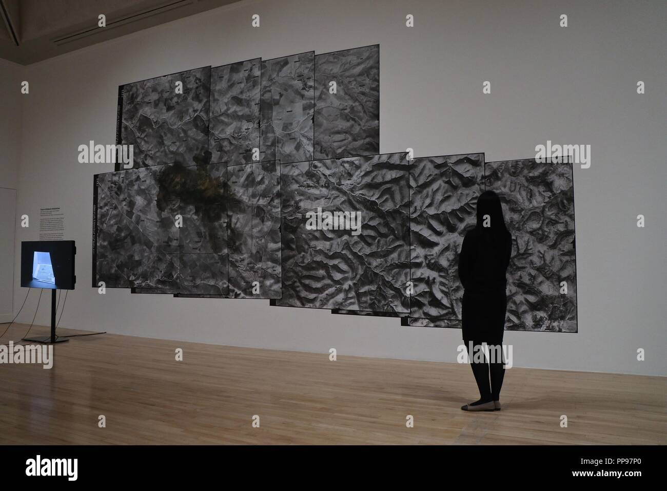 Tate Britain Turner Prize Shortlisted Artists 1984-2018 - Stock Image