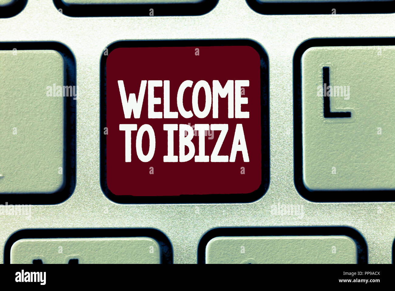 Greetings From Spain Stock Photos Greetings From Spain Stock