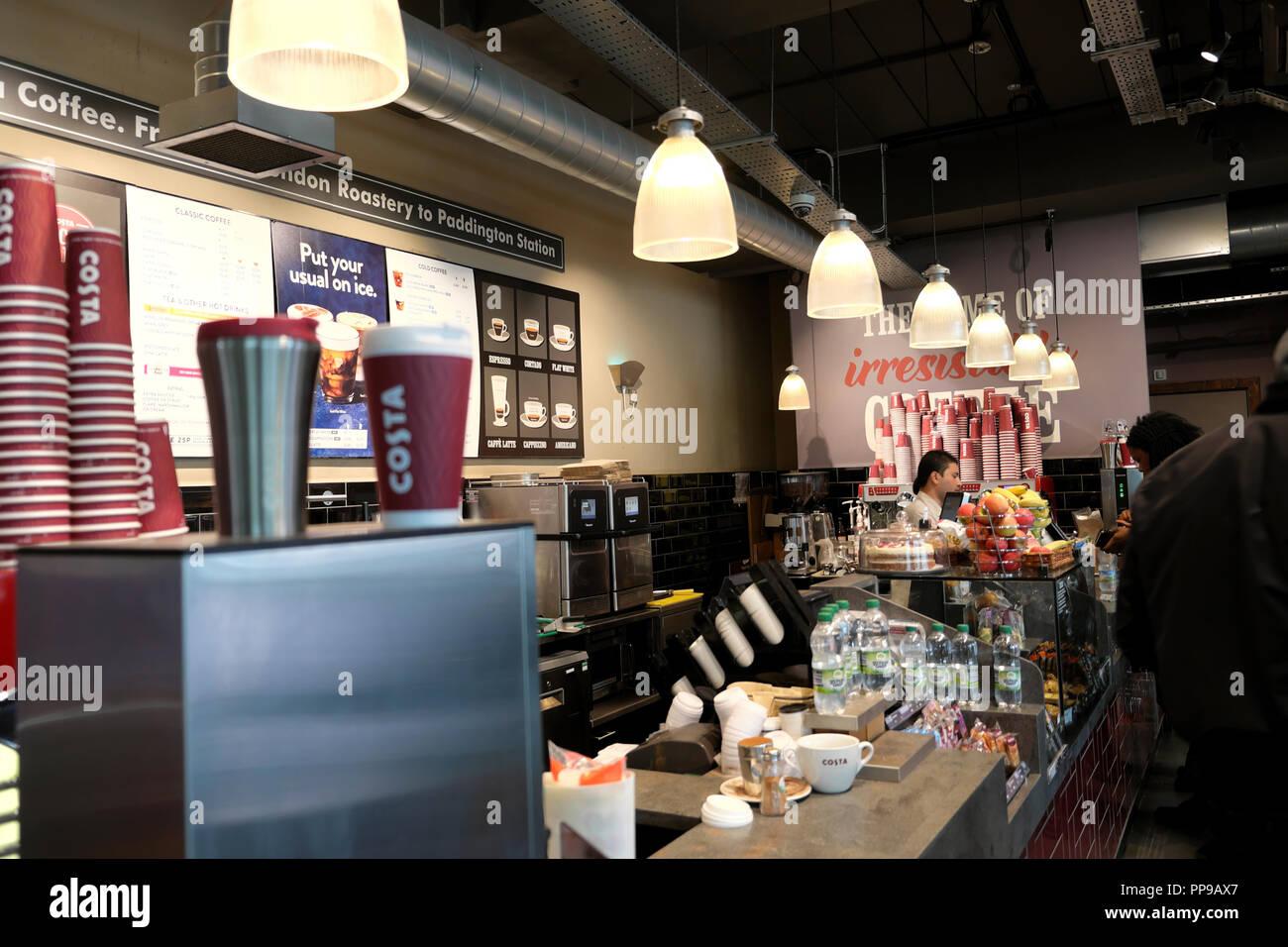 Costa Coffee Interior Stock Photos Costa Coffee Interior