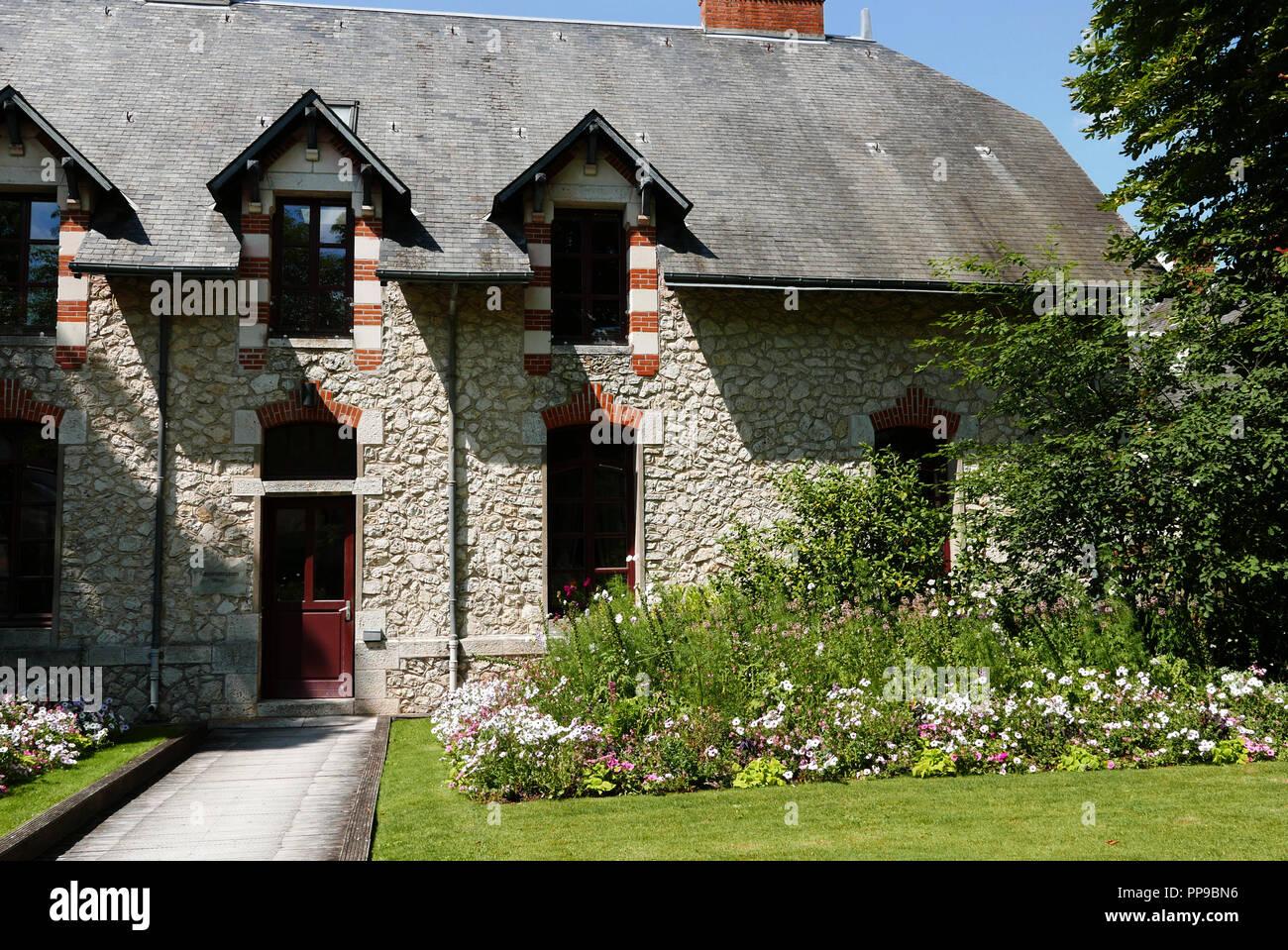 International Garden Festival, Domain of Chaumont-sur-Loire, Centre for arts and nature, Loire valley, Loir-et-Cher, Touraine, France, Europe Stock Photo