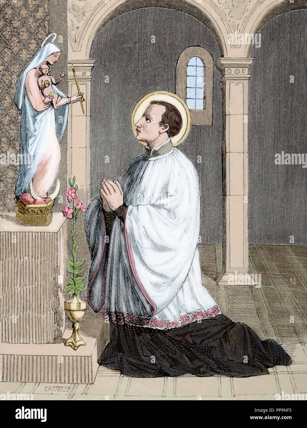 Saint Aloysius Gonzaga 1568 1591 Italian Jesuit