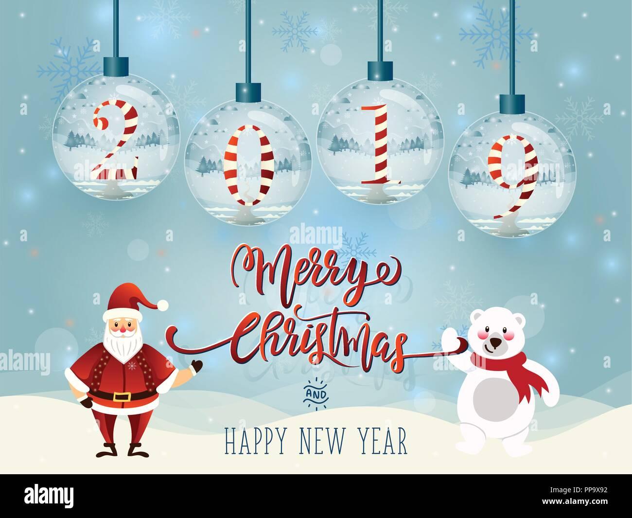 cf28e71b87742 Set of Merry christmas glass ball collection. - Stock Vector