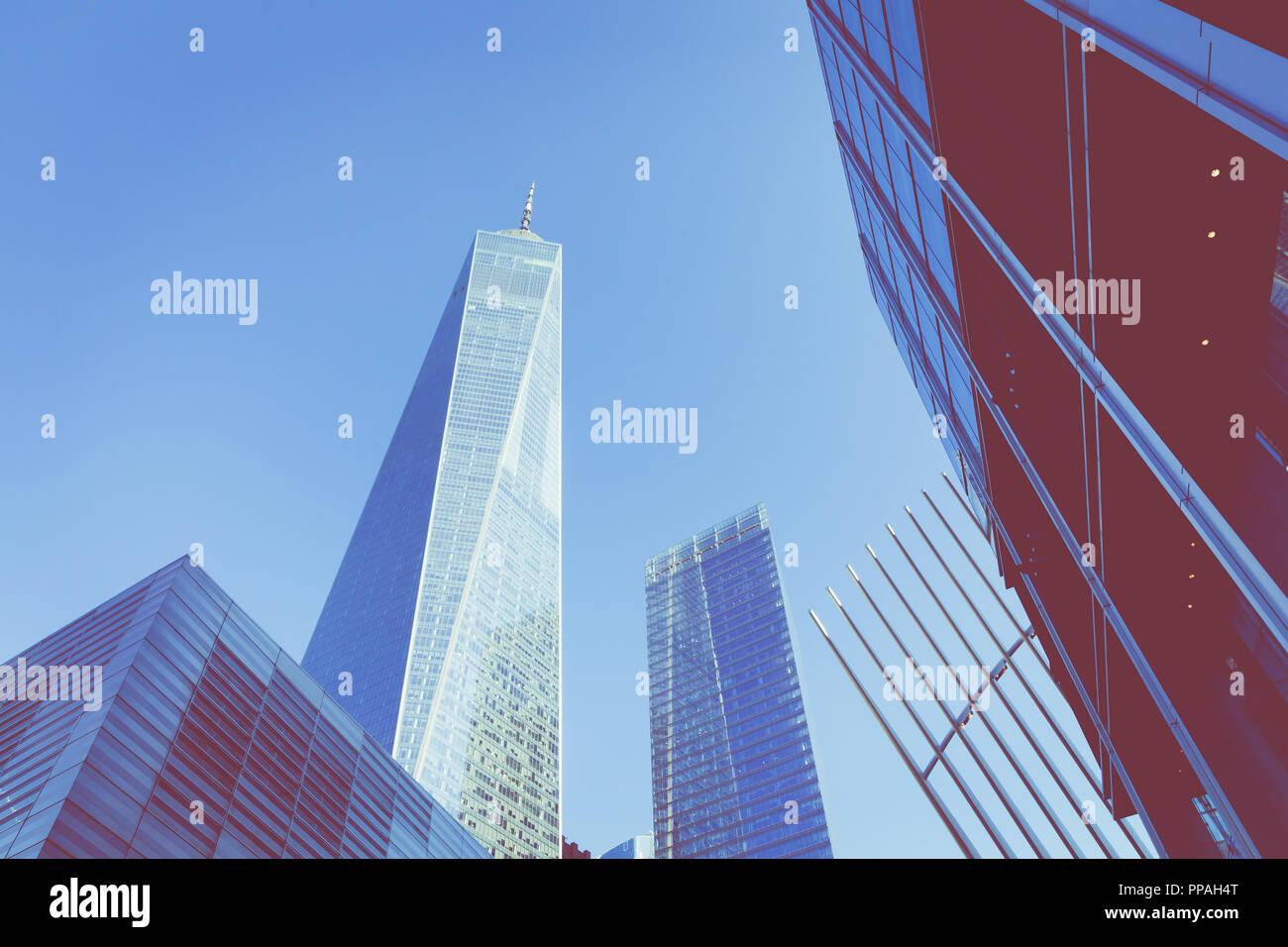 New York Usa September 16 2018 Manhattan Modern Architecture