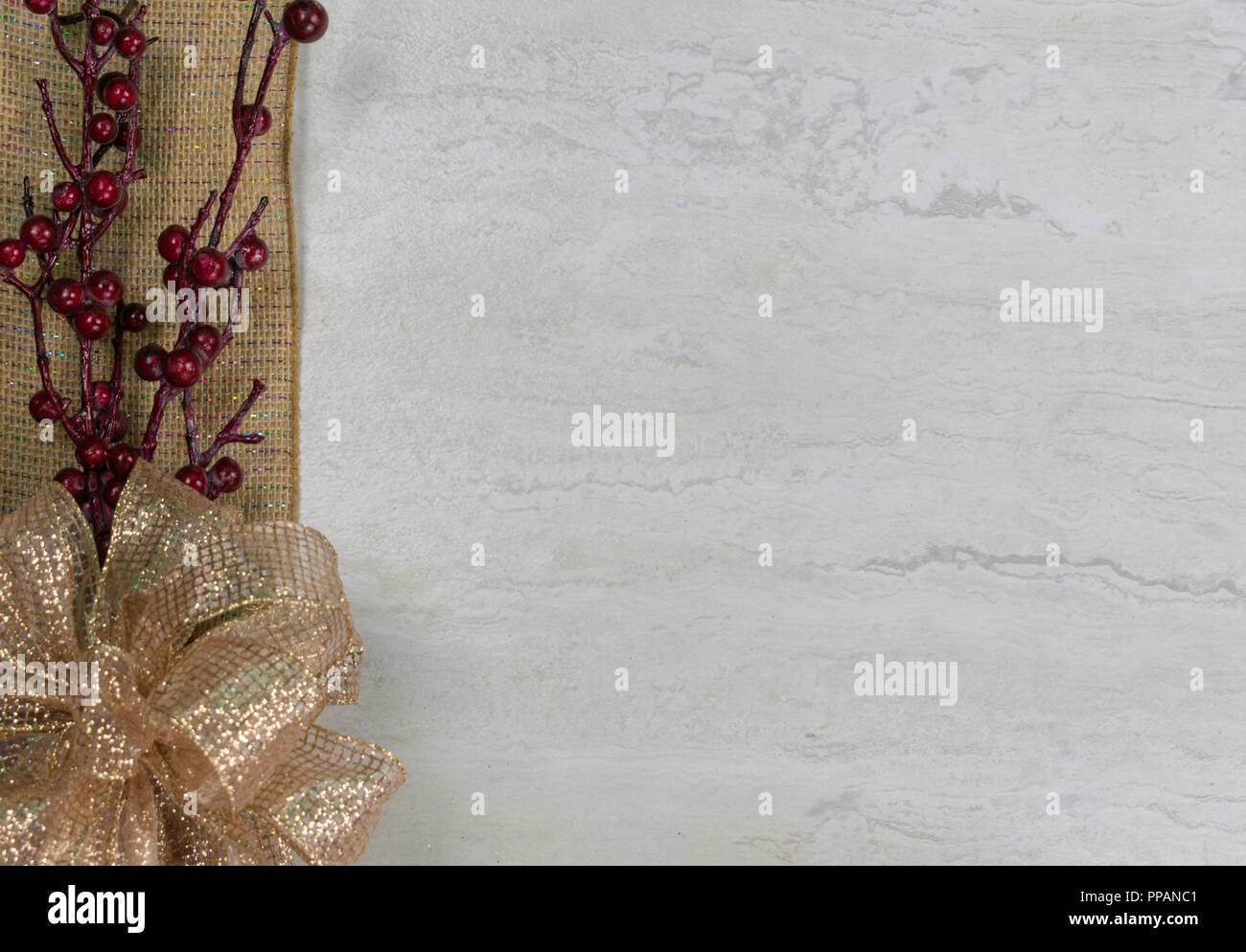 Burlap Bow Stock Photos & Burlap Bow Stock Images - Alamy