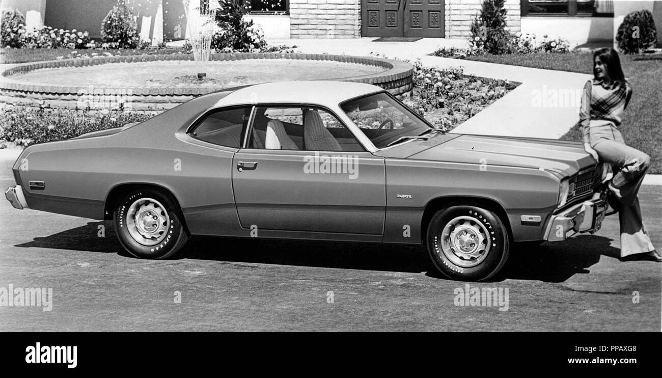 Classic American Muscle Car Black And White Stock Photos Images