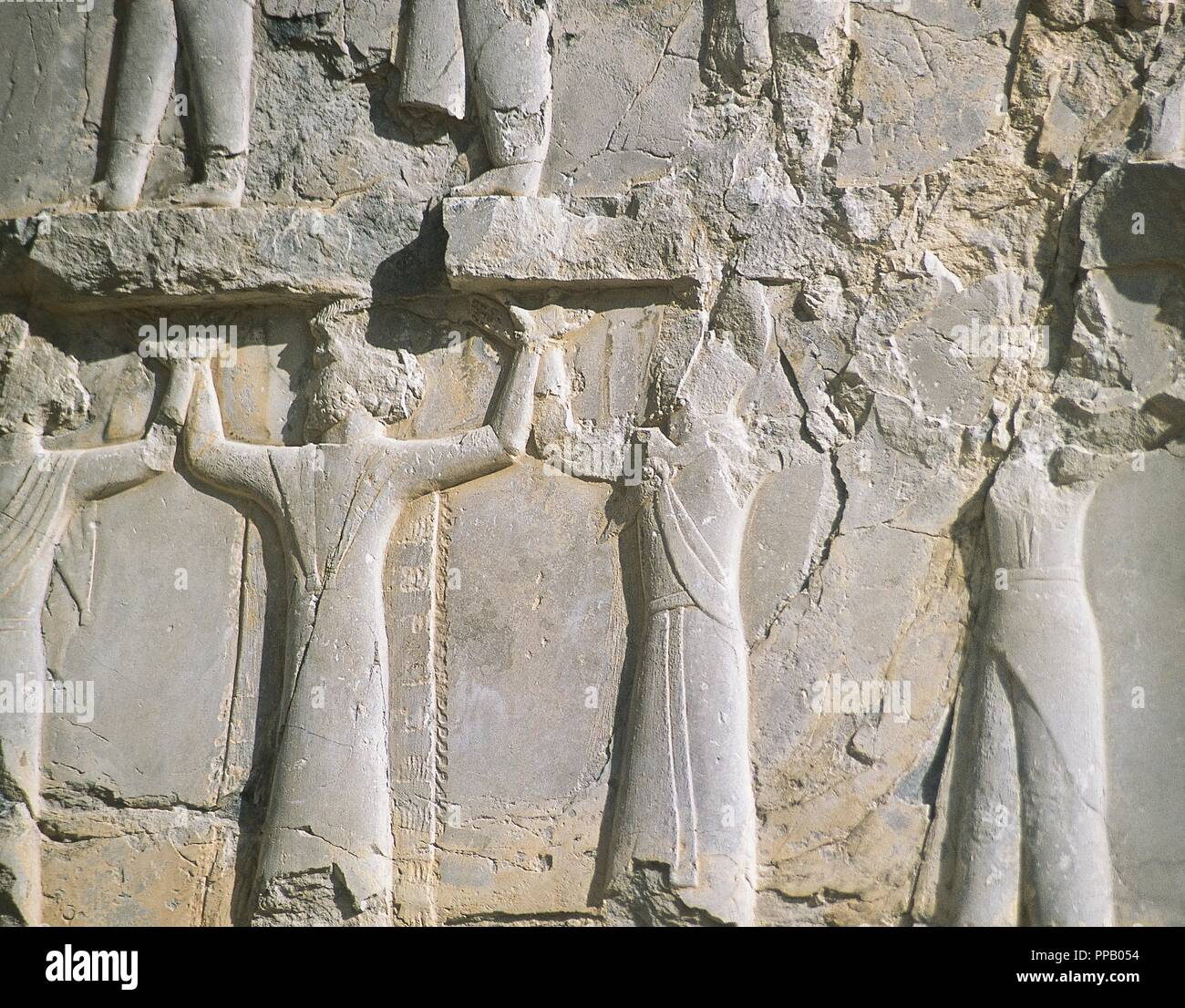 Persian Art Achaemenid Period 5th Century B C Persepolis Takht E Jamshid Throne Hall Or The Imperial Army S Hall Of Honour Also Called The Hundred Columns Palace Relief Depicting The Different Peoples Of The Empire Bearing