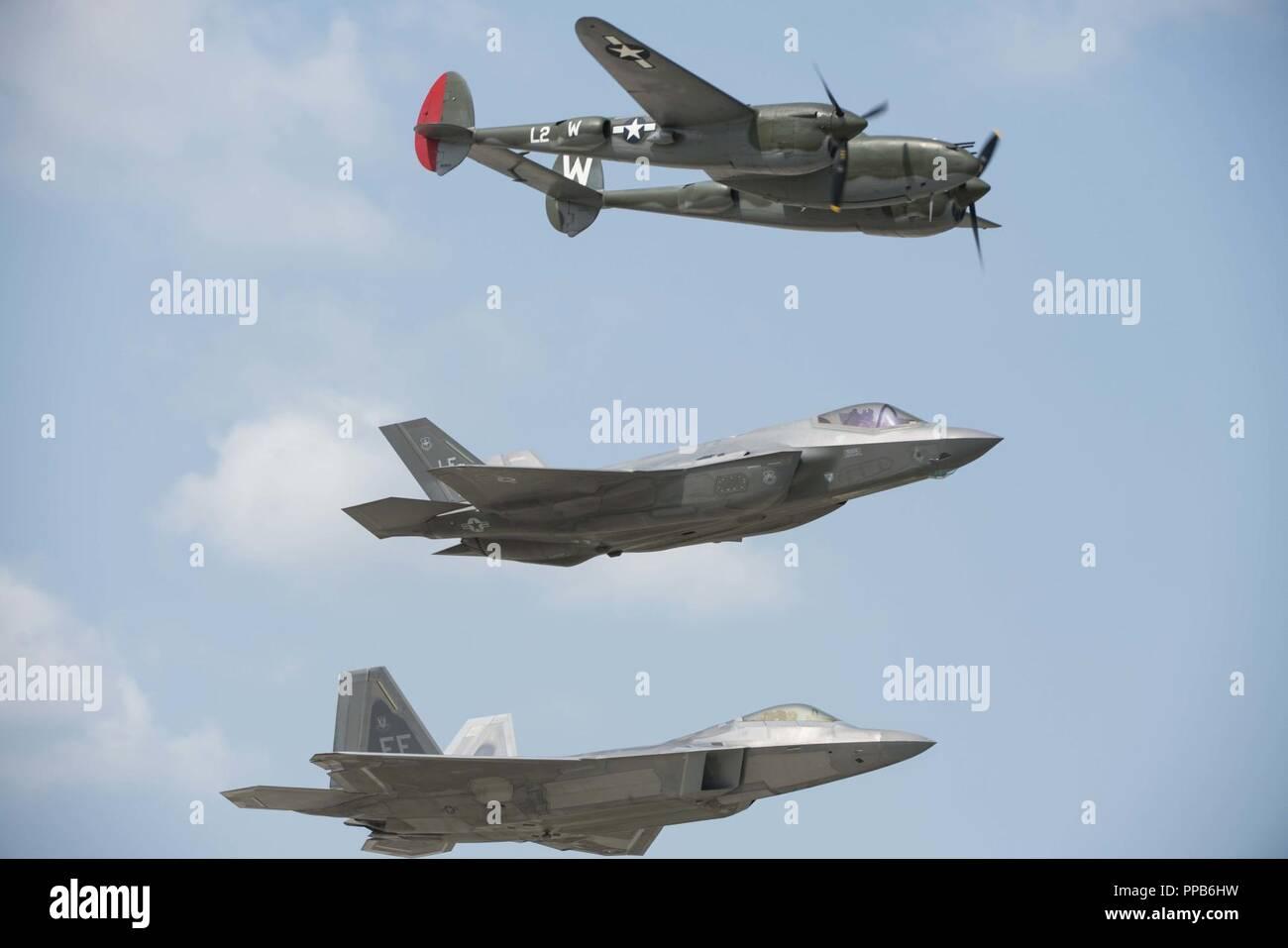 F-35 Lightning II American Airpower Adult Hoody