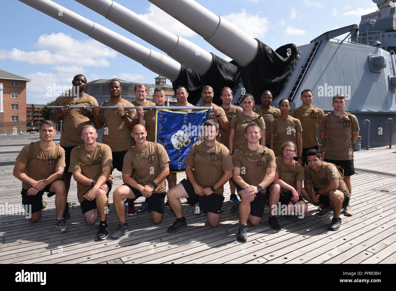 4880db91b4c CPO Selectees from the Naval Special Warfare Group-2 pose for a group  picture aboard