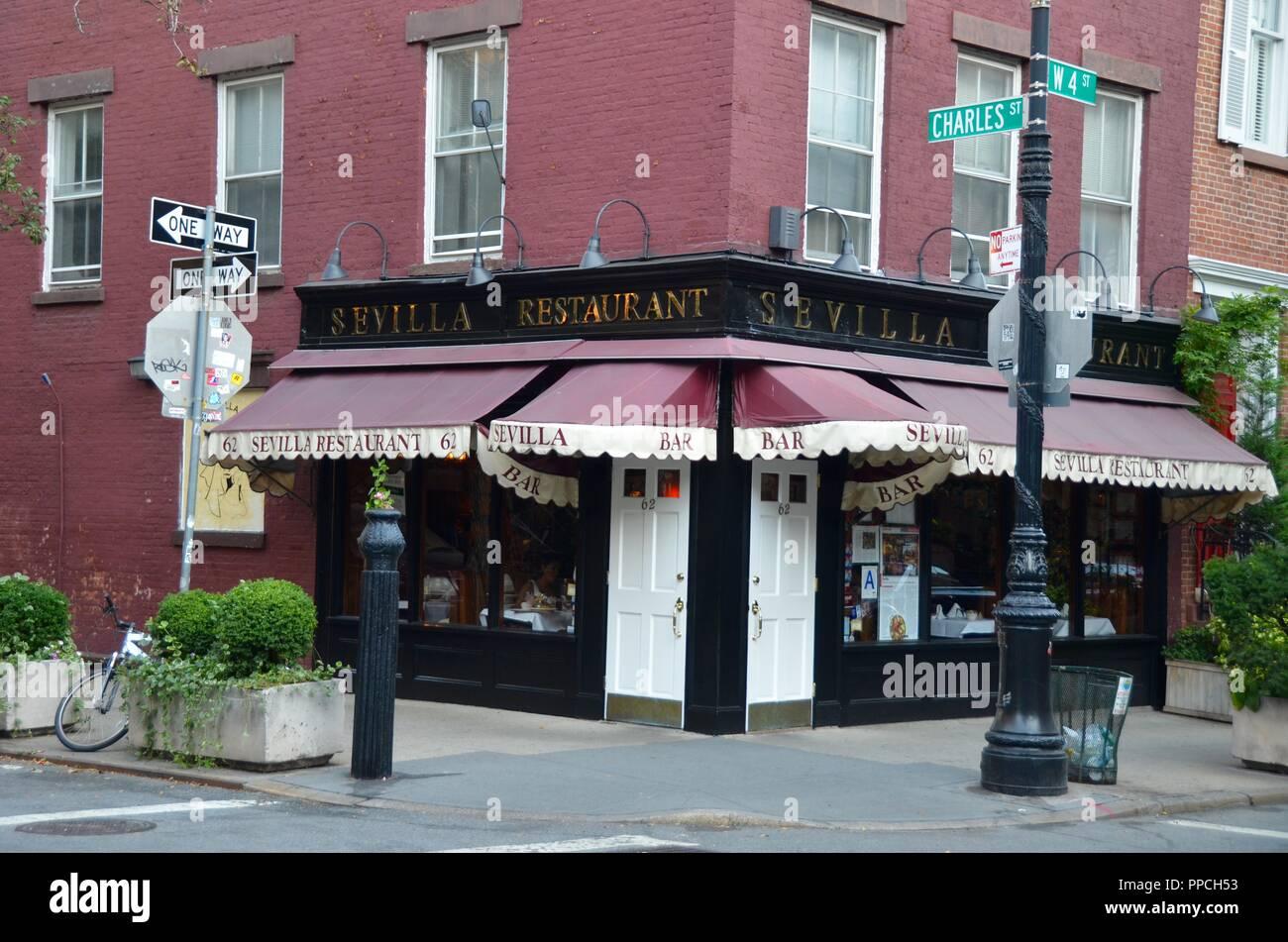 West Village Manhattan Nyc Usa Stock Photo Alamy