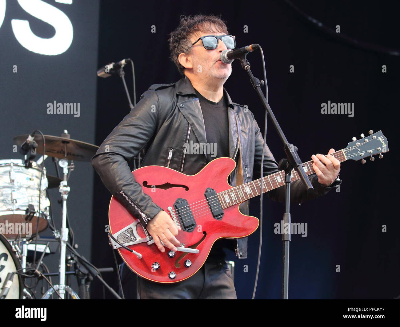 Victorious Festival - Day 1 at Southsea seafront, Portsmouth, Hampshire  Featuring: Lightning Seeds Where: Southsea, United Kingdom When: 24 Aug 2018 Credit: WENN.com Stock Photo