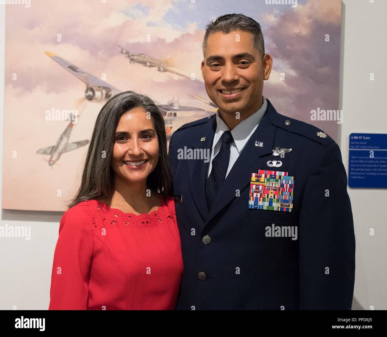 Lt  Col  David Arriola promotes to the rank of Col  at Barksdale Air