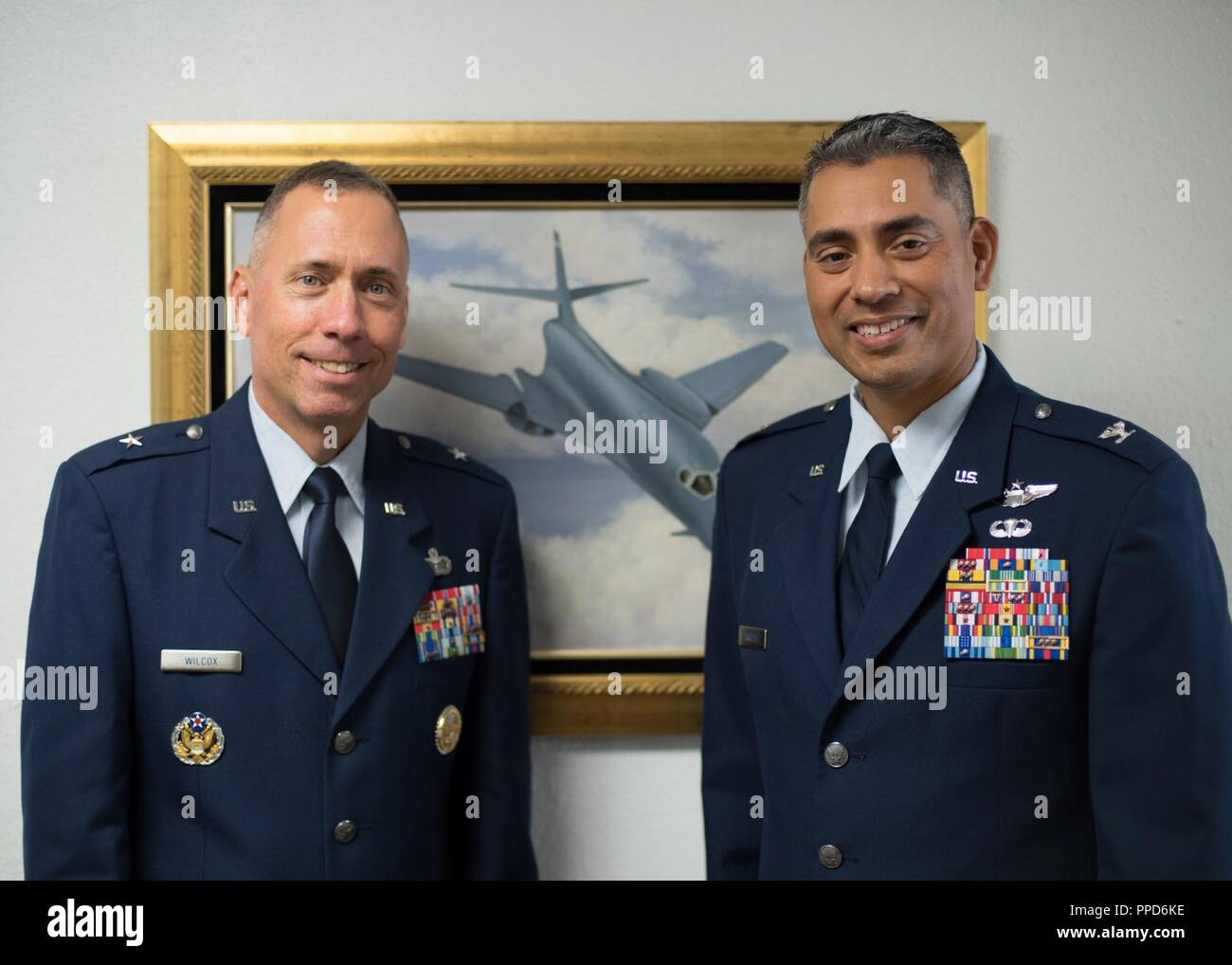 Lt  Col  David Arriola promotes to the rank of Col  at