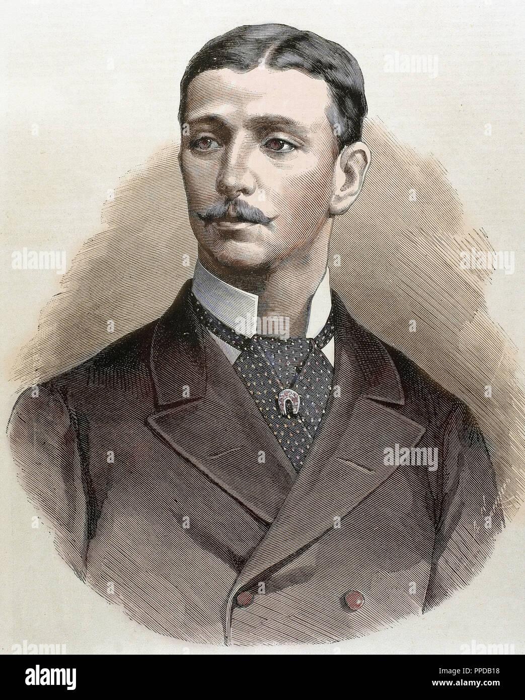 Bonaparte, Eugene Louis Napoleon (1856-1879)  French Prince