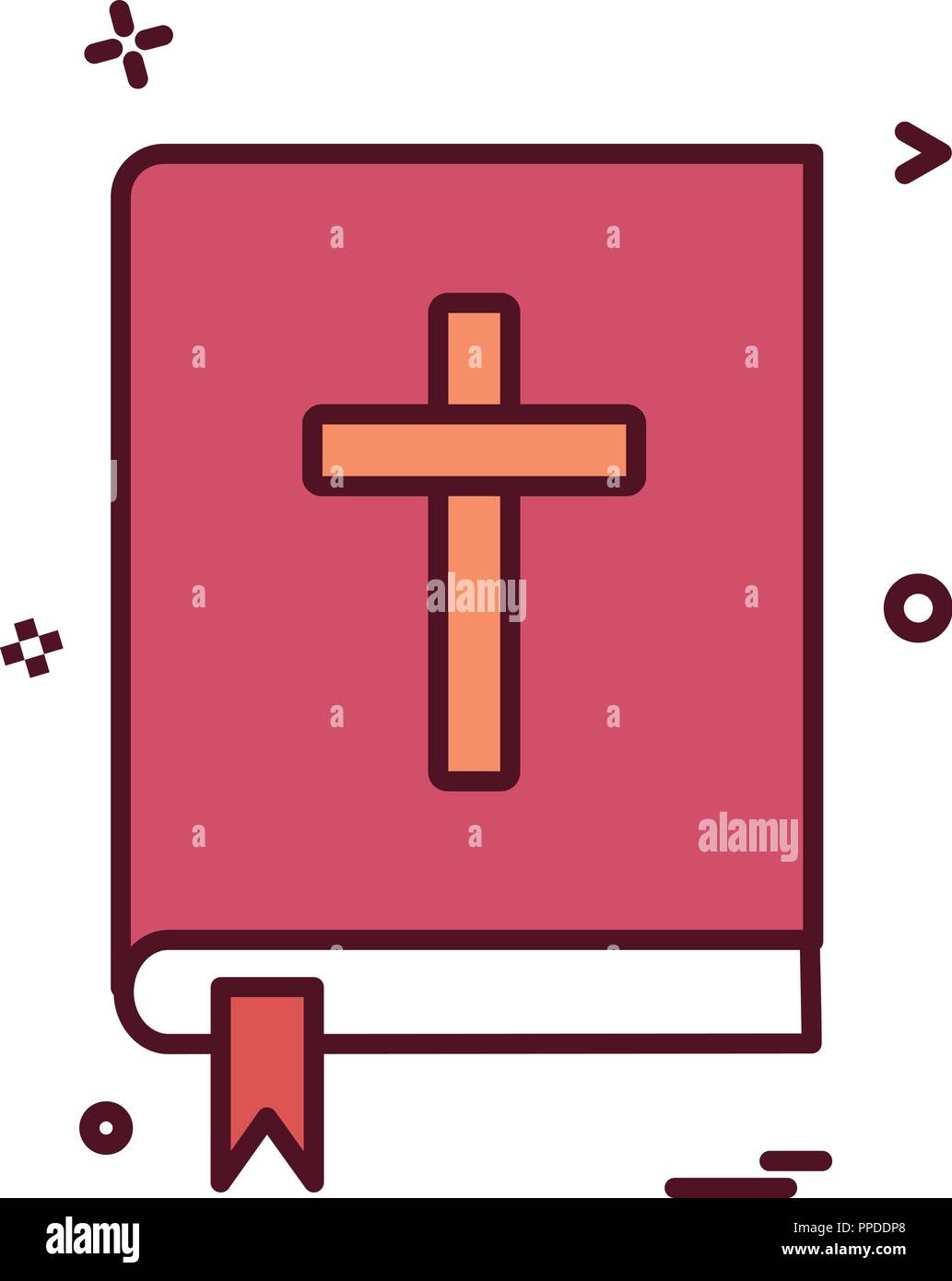 The Open Bible Stock Vector Images - Alamy
