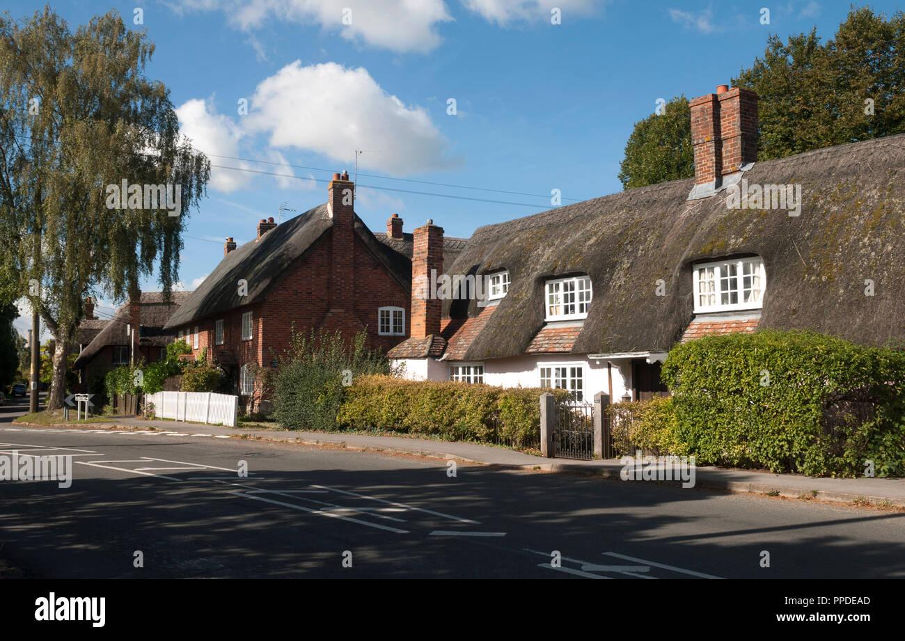 Long Wittenham village, Oxfordshire, England, UK - Stock Image