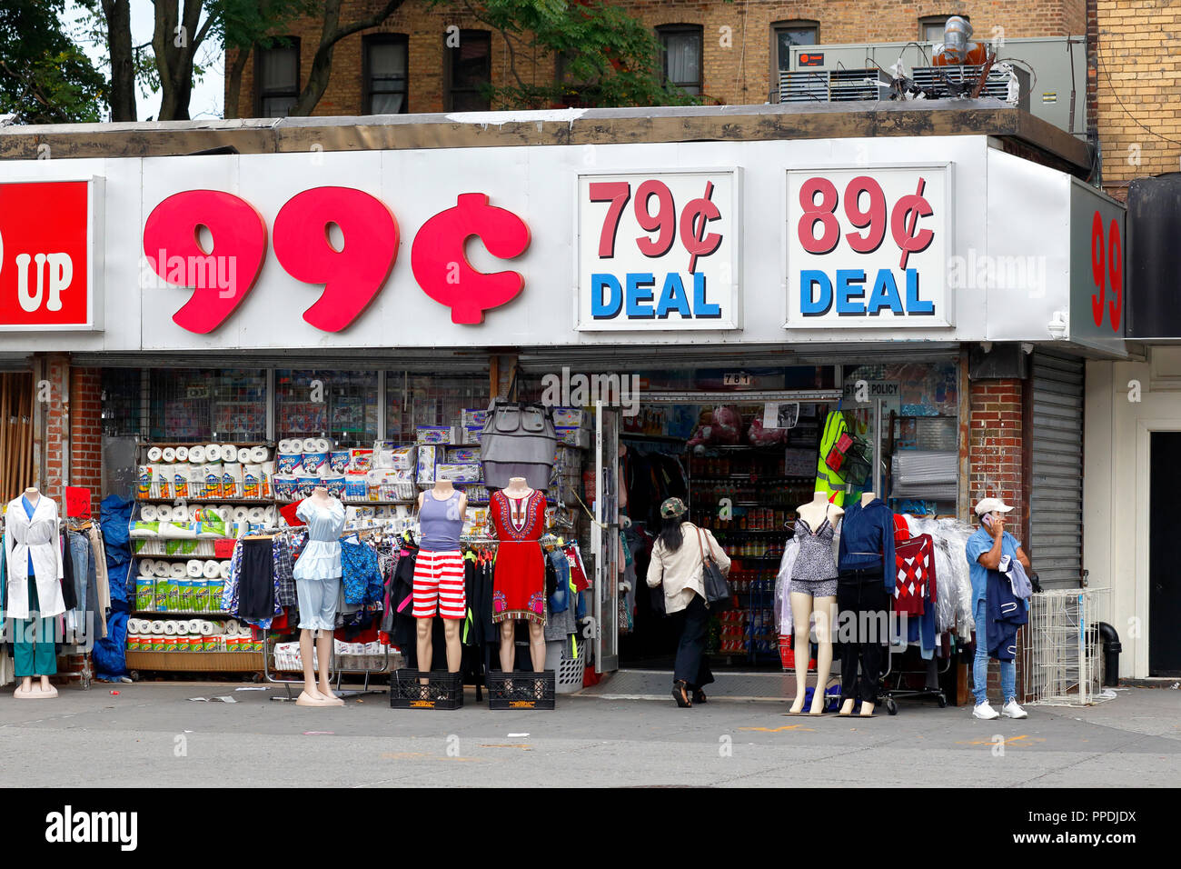 A Discount 99 Cent Store In Brooklyn
