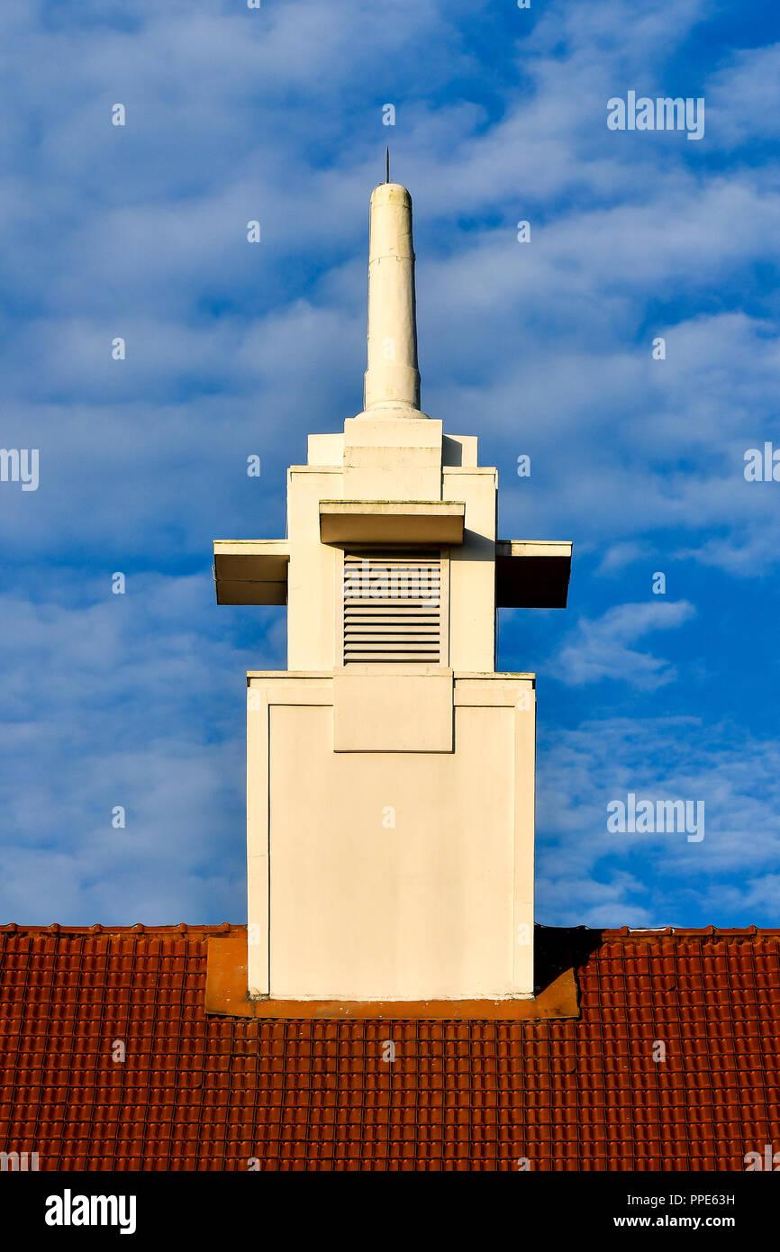 Straits Settlements architecture design - Stock Image