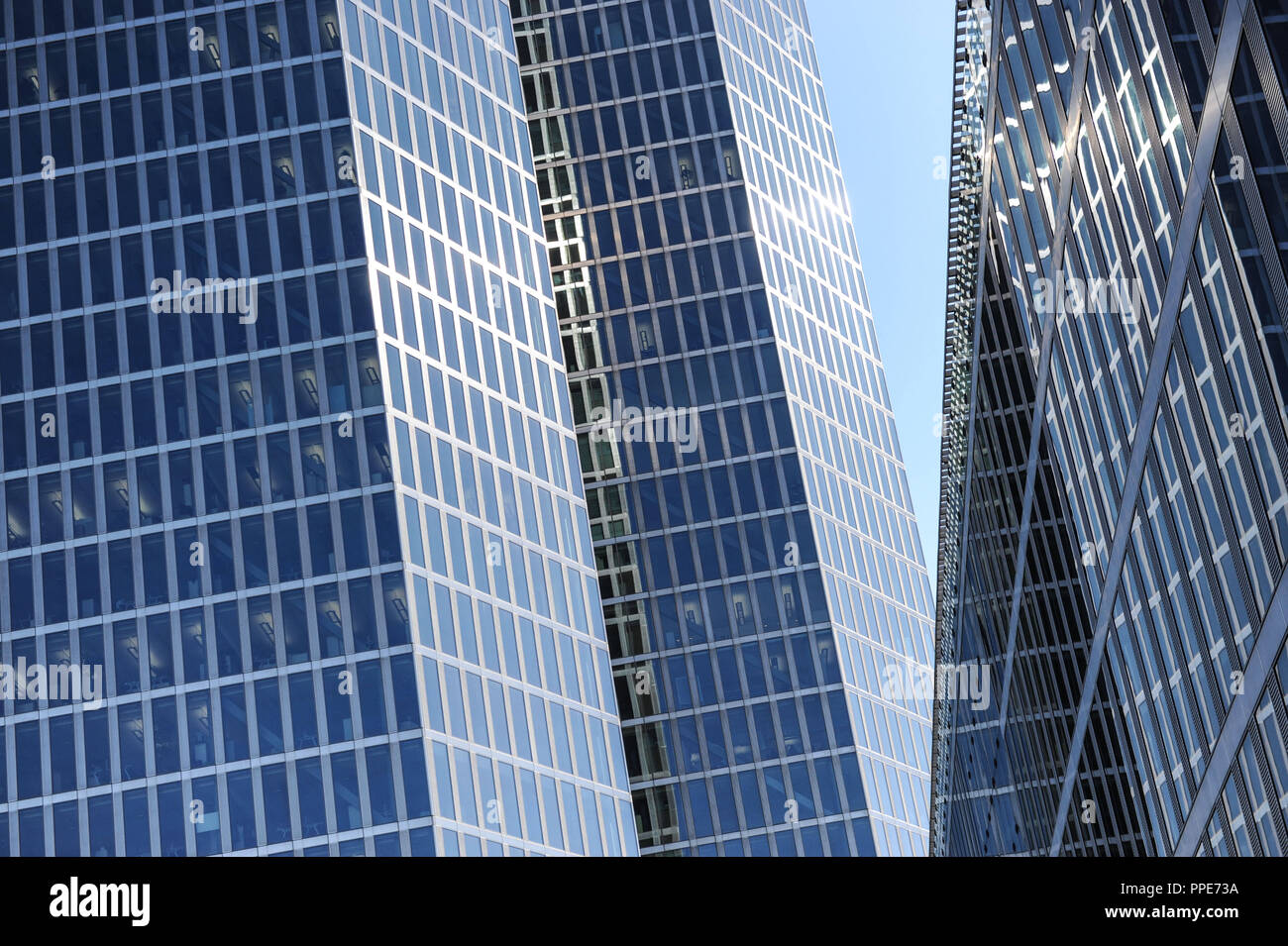The Highlight Towers in Munich Schwabing. - Stock Image