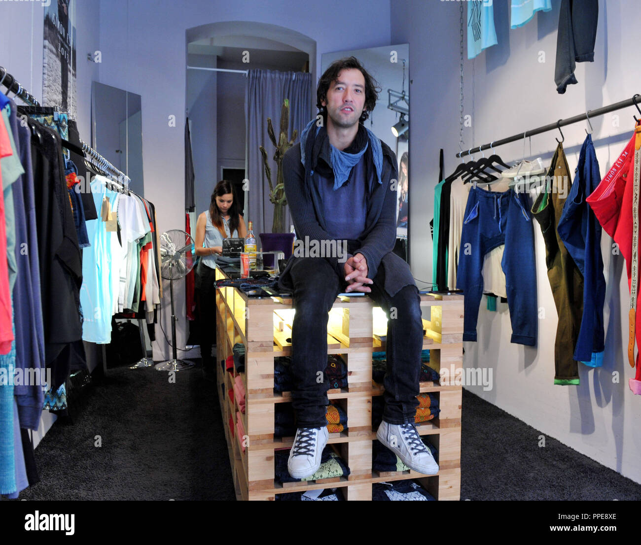 af87949f36b Andreas Bernhard, co-founder and co-owner of the Munich-based fashion