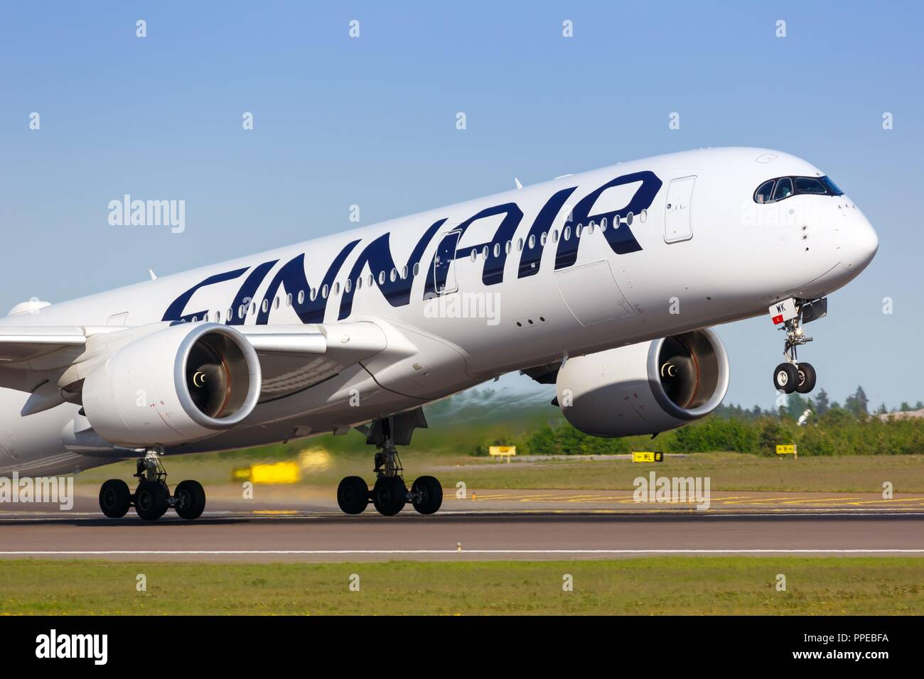 Finnair Take Off Helsinki Uusimaa