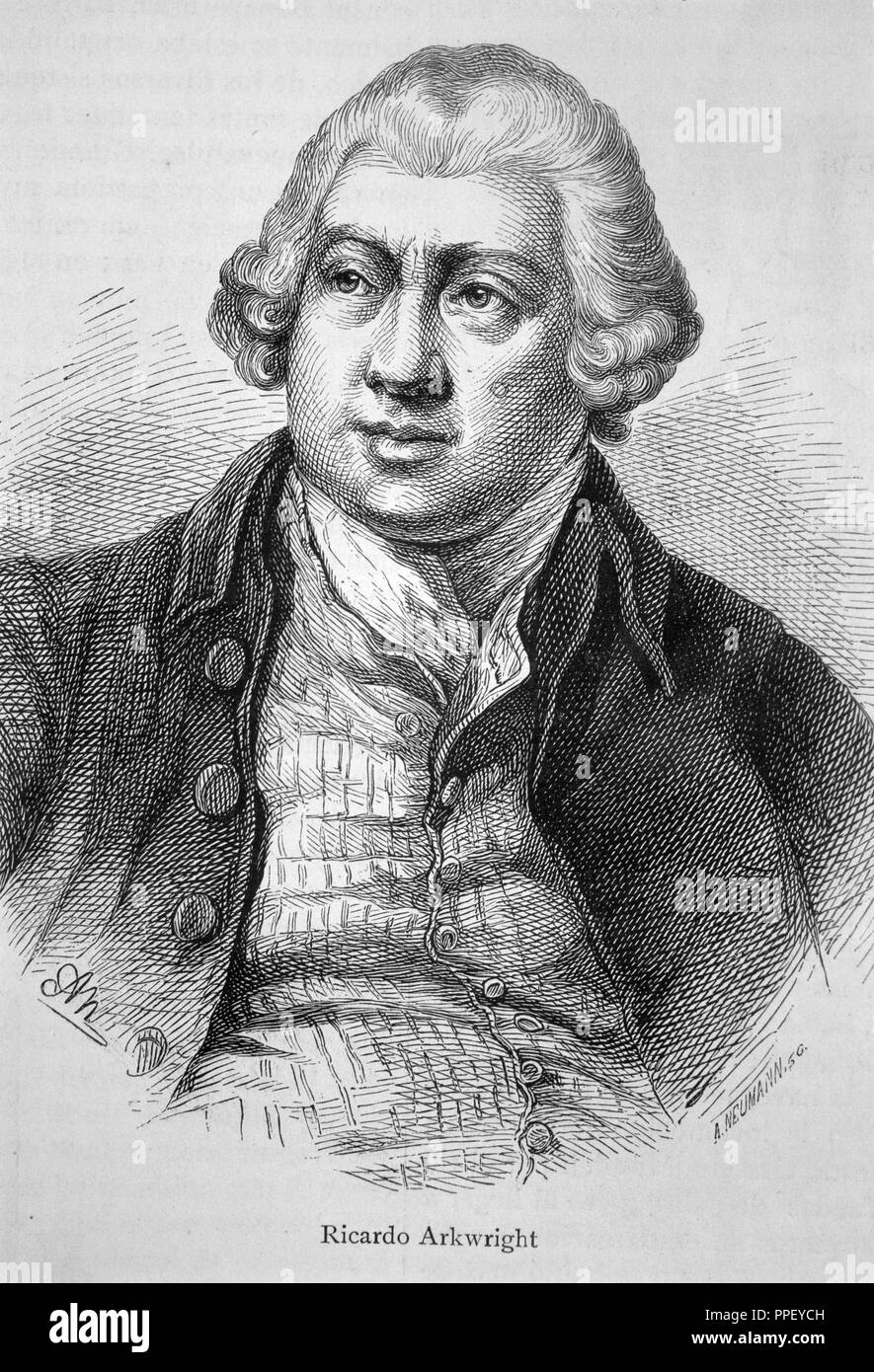 why is richard arkwright important