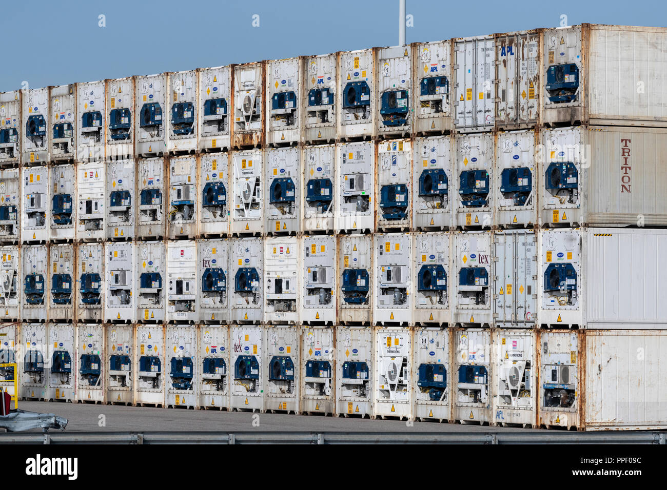 The Netherlands - Rotterdam Harbour -  Maritime transportation - Cargo handlers- International TradeStock Photo