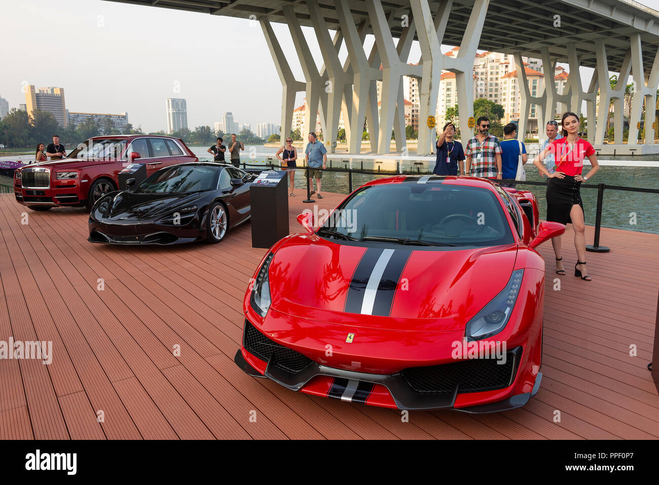 ferrari 488 pista stock photos ferrari 488 pista stock images alamy. Black Bedroom Furniture Sets. Home Design Ideas