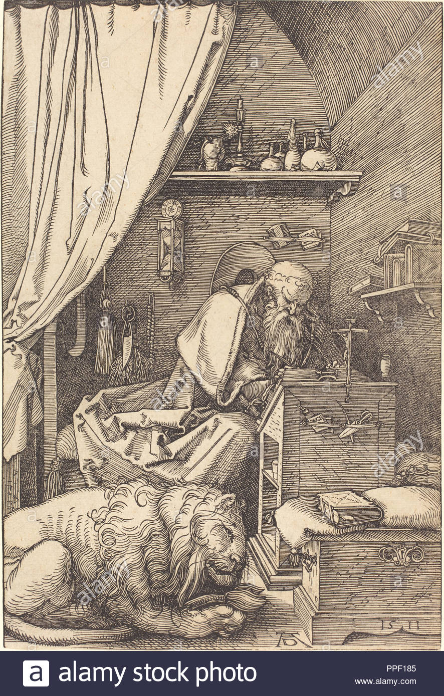 Dated: 1511. Medium: woodcut. Museum: National Gallery of Art, Washington  DC. Author: Dürer, Albrecht. ALBRECHT DUERER.