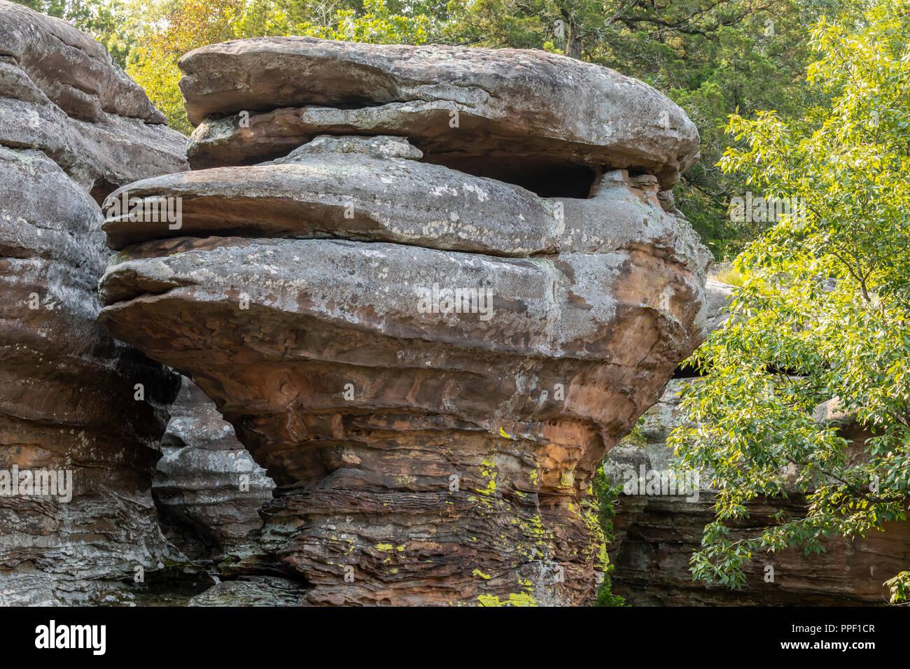 Rock Formation Scenic Landscape - Stock Image