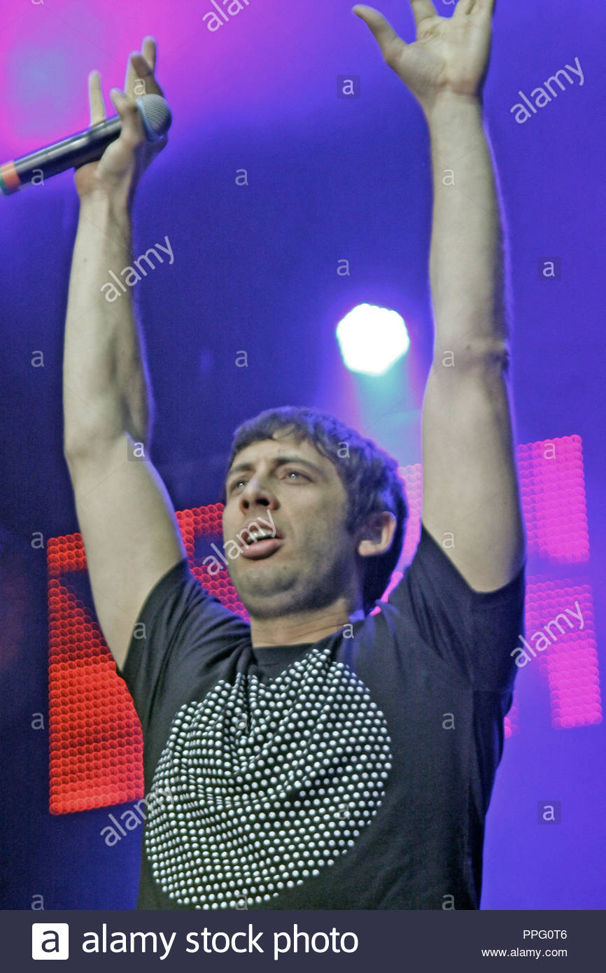 Example performs at the Jiingleball Live 2011 with Key 103 at  the Manchester Arena on Thursday 01 December 2011 - Stock Image