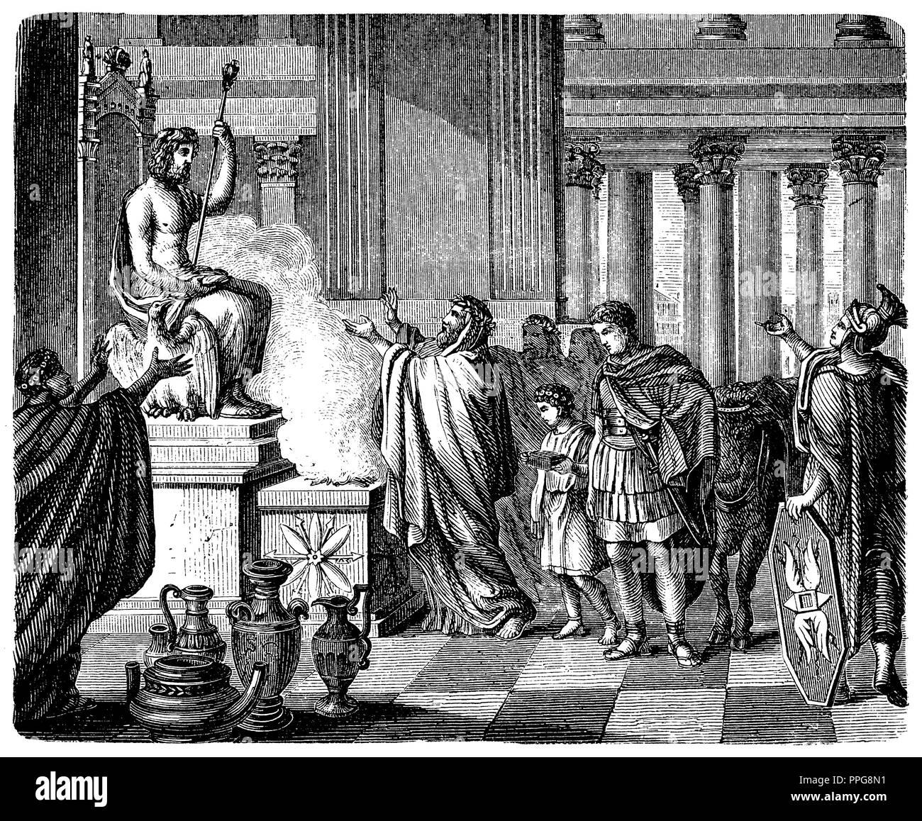 Roman Mythologie Stock Photos & Roman Mythologie Stock