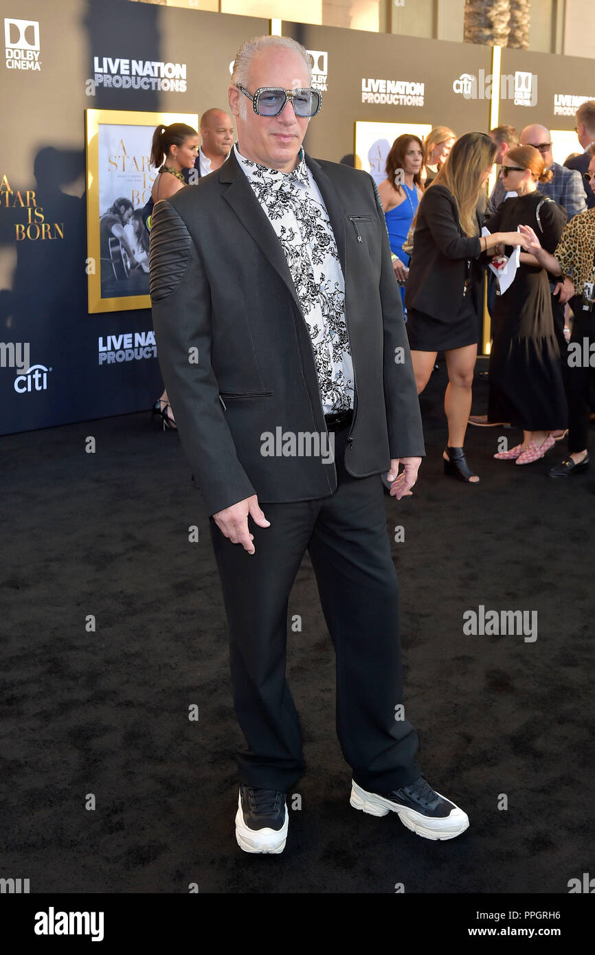 Andrew Dice Clay attending the 'A Star Is Born' premiere ...
