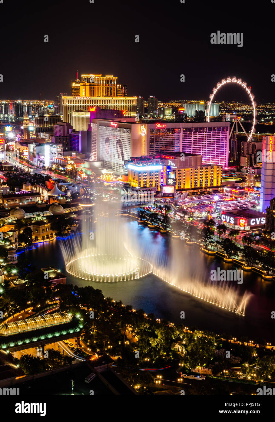 Linq Hotel Vegas Stock Photos & Linq Hotel Vegas Stock