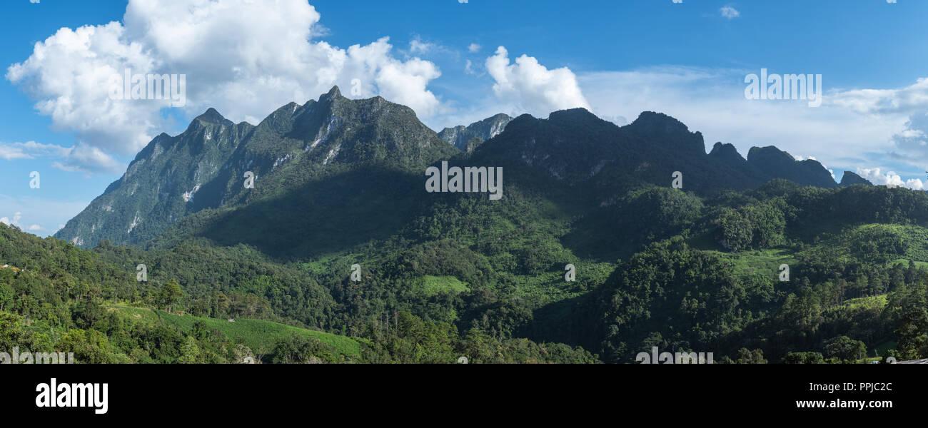 Chiang Dao mountain. Chiang Mai, Thailand Stock Photo - Alamy