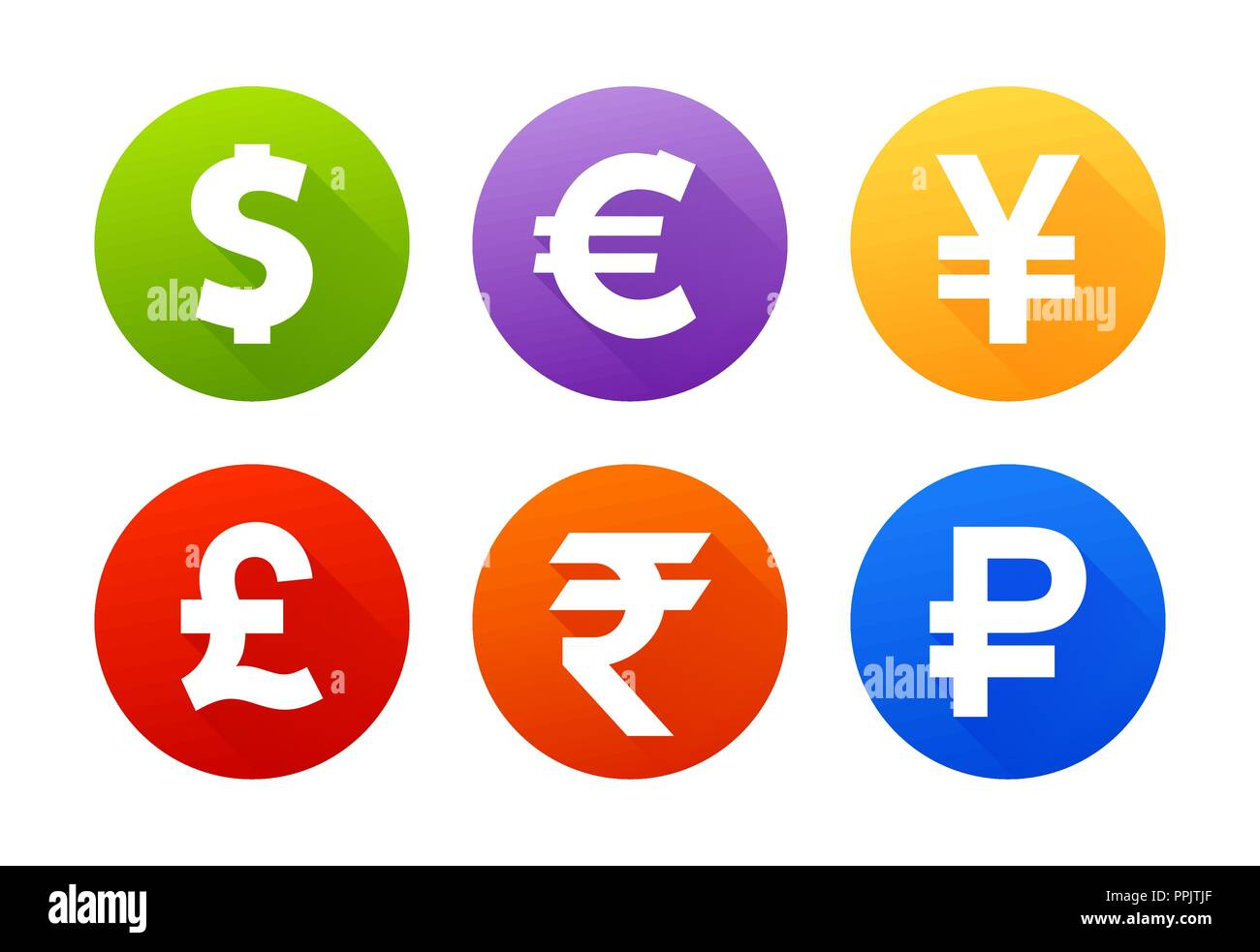 Rupee Symbol Stock Vector Images Alamy