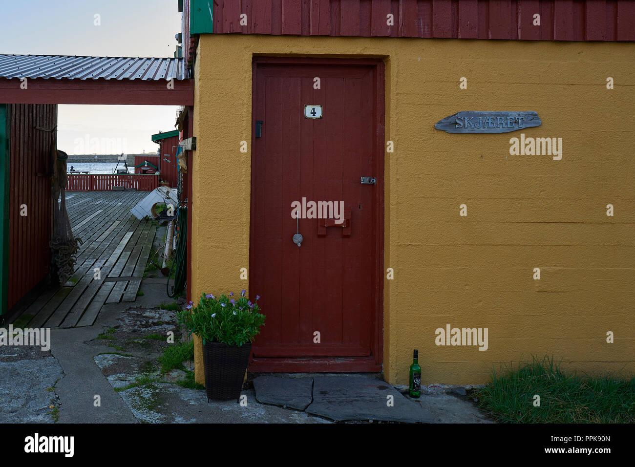 Norsk rodfarg i falun